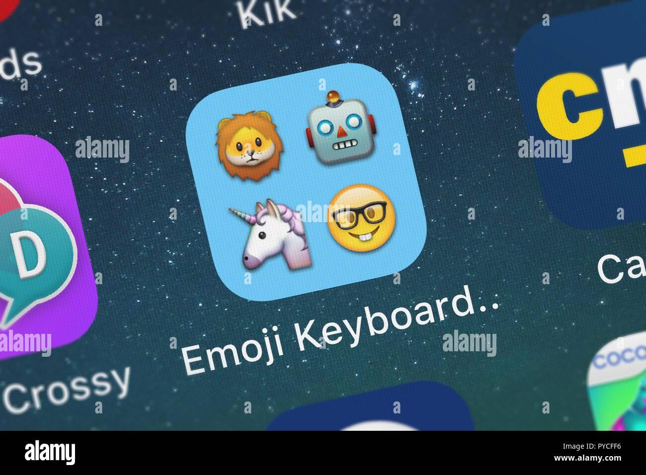 Emoji Keyboard Stock Photos & Emoji Keyboard Stock Images