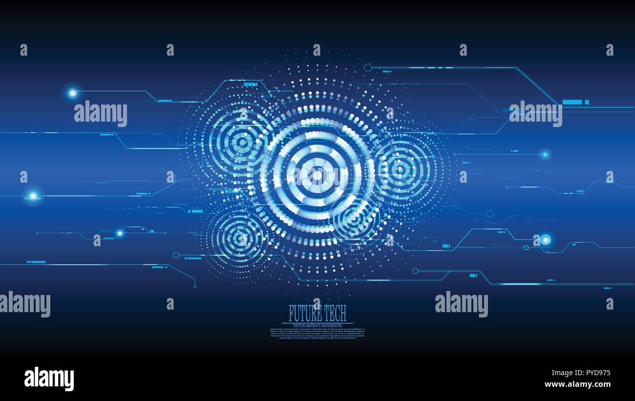 vector abstract blue cyber circuit background future tech stock vector image art alamy https www alamy com vector abstract blue cyber circuit background future tech image223412761 html