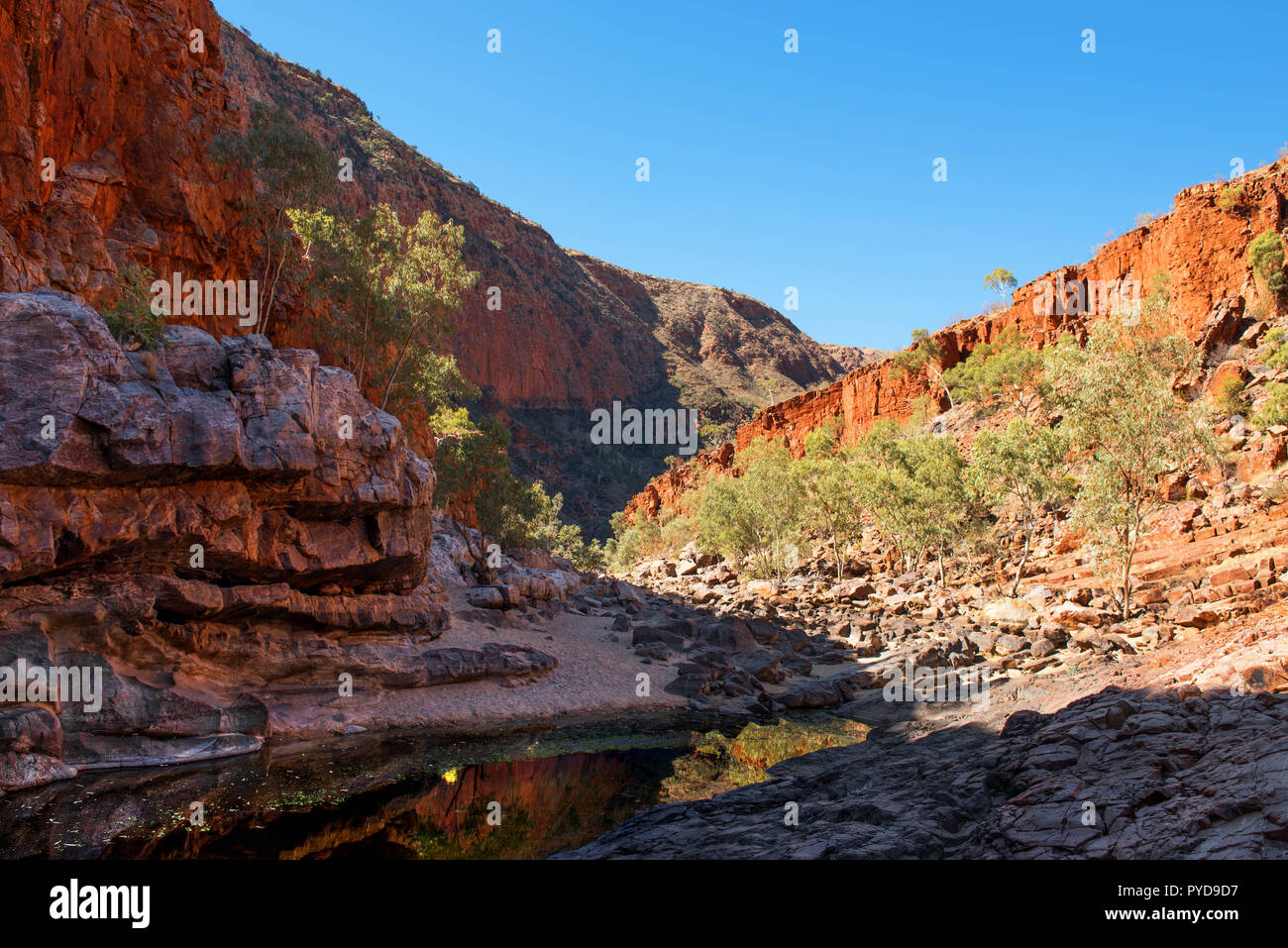 Ormiston Gorge, West MacDonnell National Park, Northern Territory, Australia - Stock Image