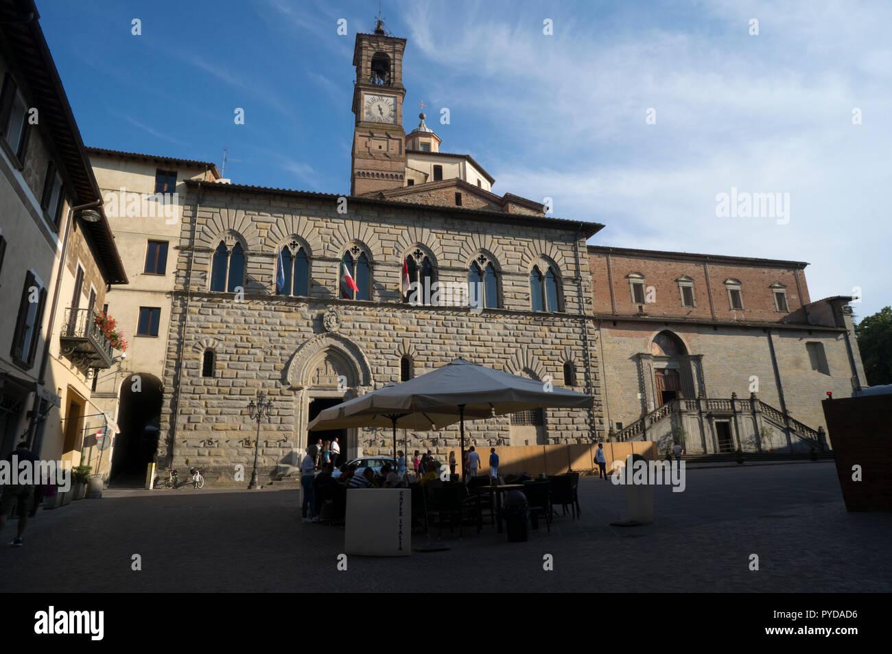 Citta' di castello, Perugia, Italy - Stock Image