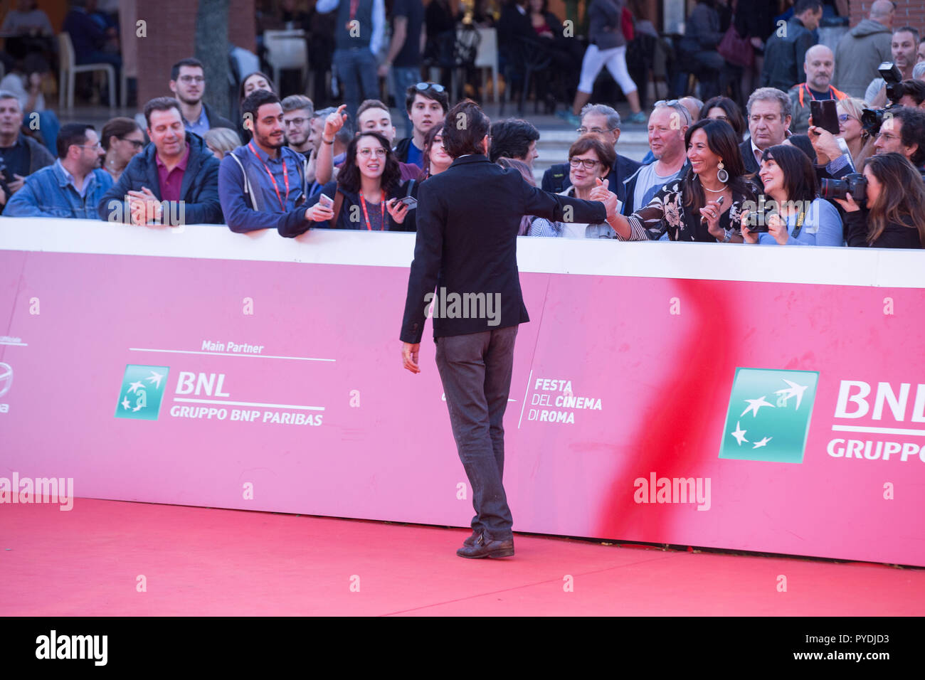Rome, Italy  26th Oct, 2018  Italian actor Marco Giallini Red Carpet