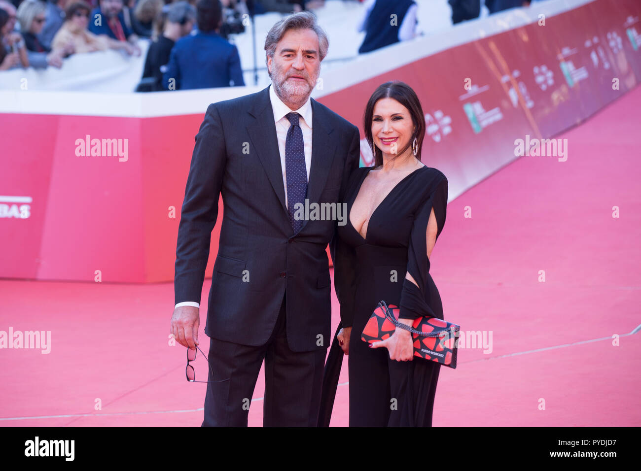 Rome, Italy  26th Oct, 2018  Max Tortora Red Carpet in memory of the