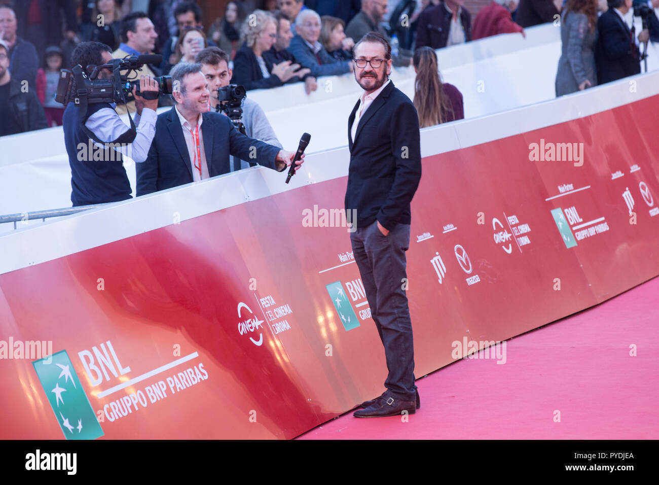 Rome, Italy  26th Oct, 2018  Marco Giallini Red Carpet in memorie of