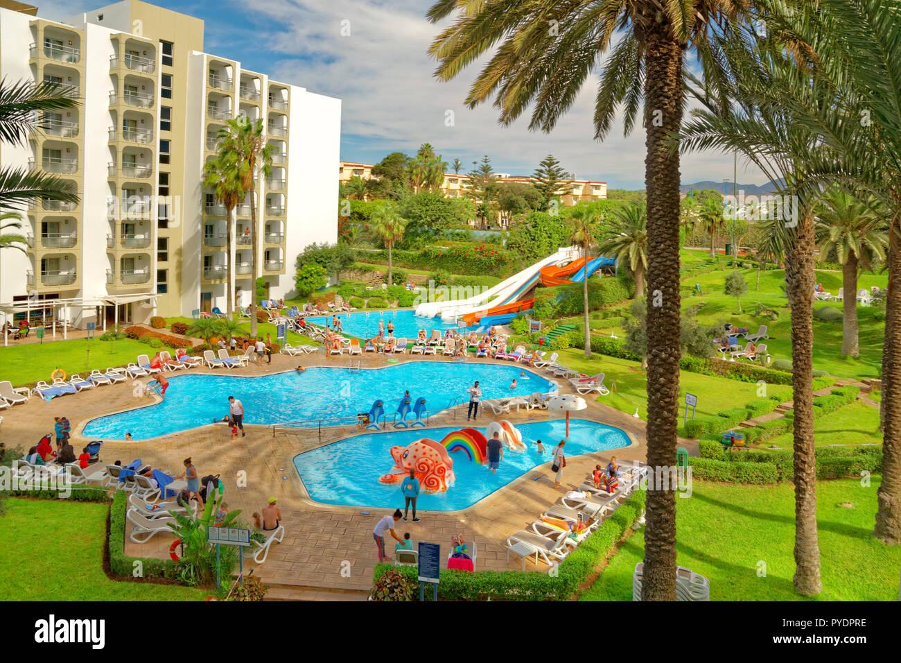 The Kenzi Europa Hotel at Agadir in Morocco, Northwest Africa. - Stock Image