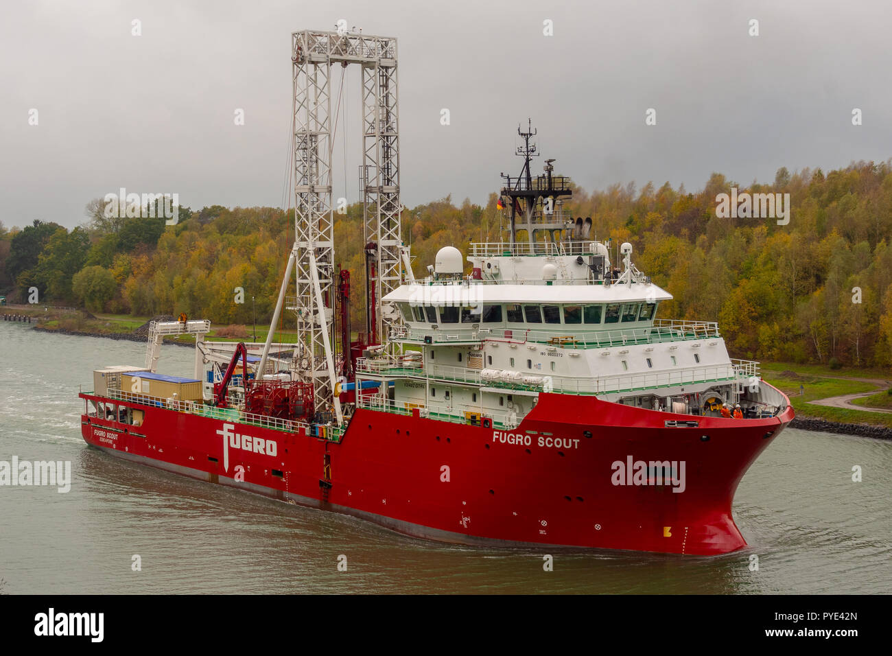 Fugro Scout Stock Photo