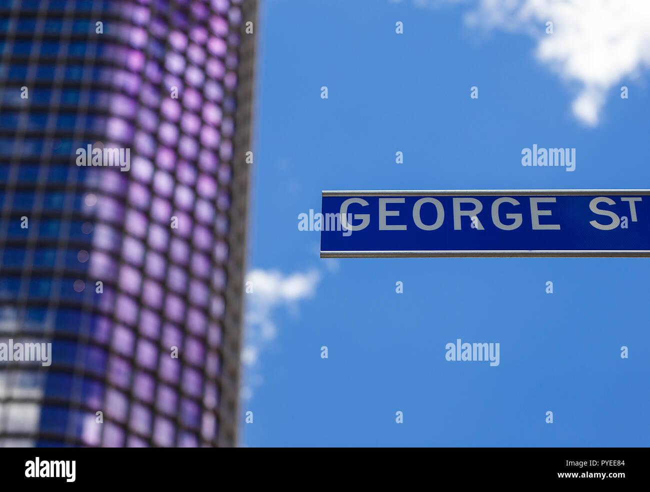 City of Brisbane, Australia - Stock Image