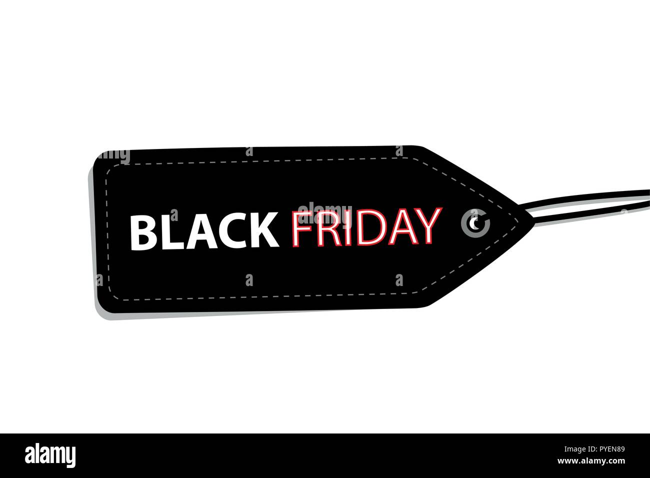 22a82c64ff80 black friday label tag for promotion isolated on white background vector  illustration EPS10