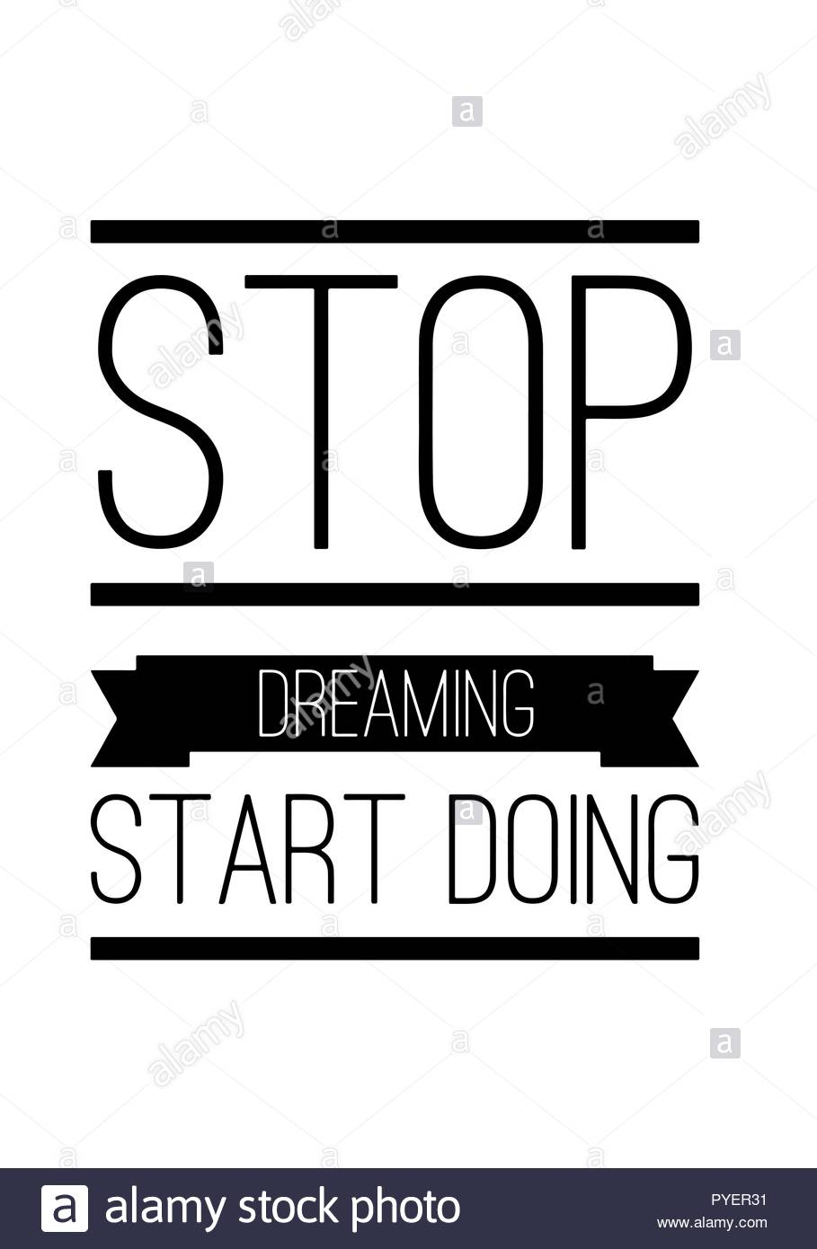 Stop wishing start doing inspiring quote in black color - Stop wishing start doing hd wallpaper ...