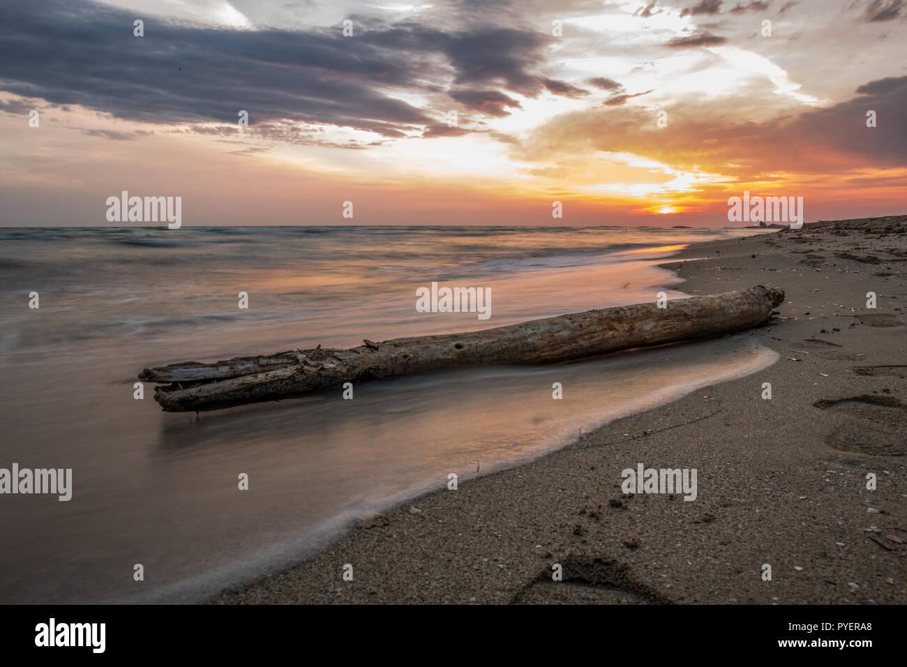Mare Salento - Stock Image