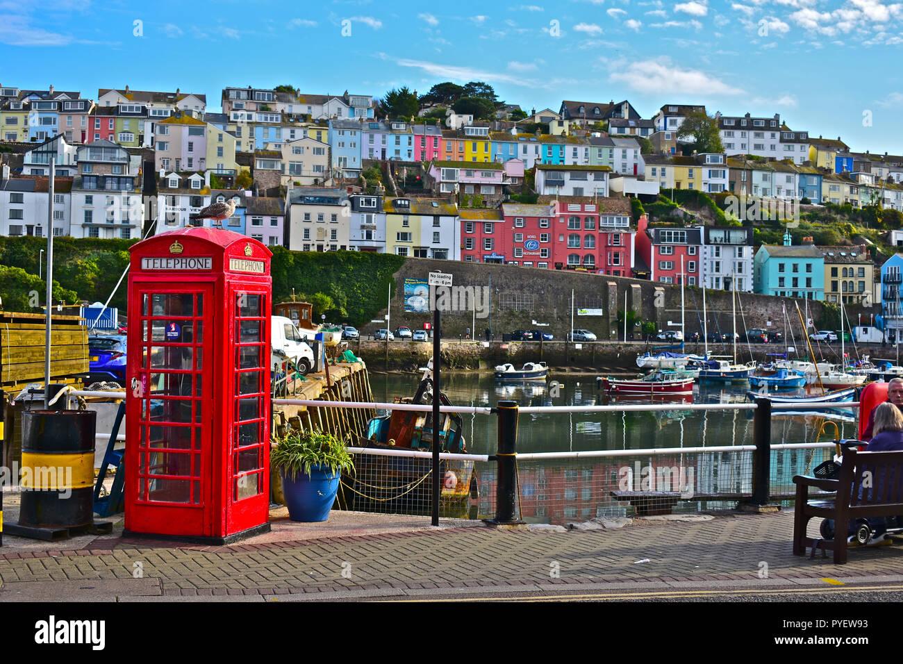 Brixham, Devon England, UK - Stock Image