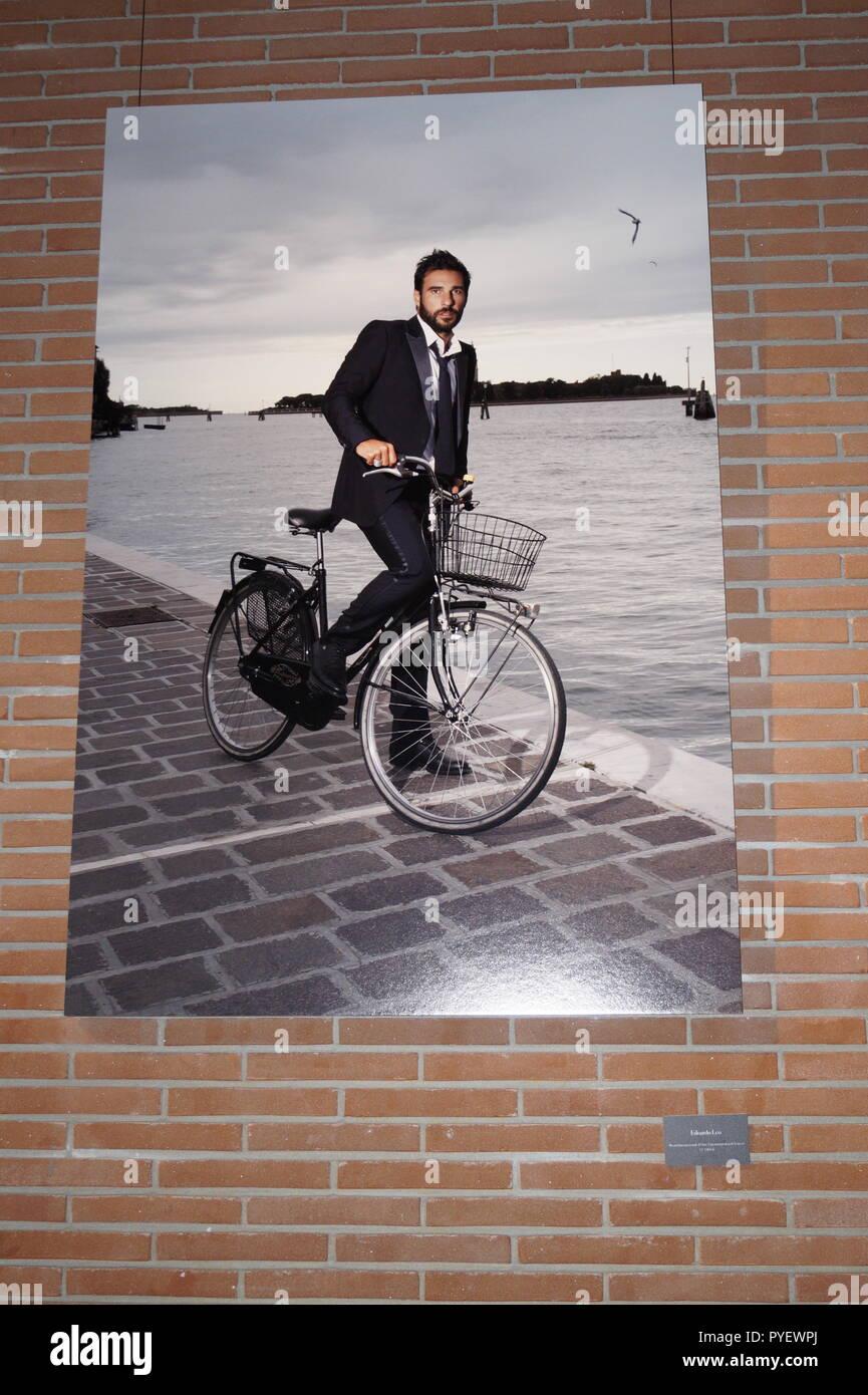 Edoardo Leo, ritratto alla Festa del Cinema di Roma - Stock Image