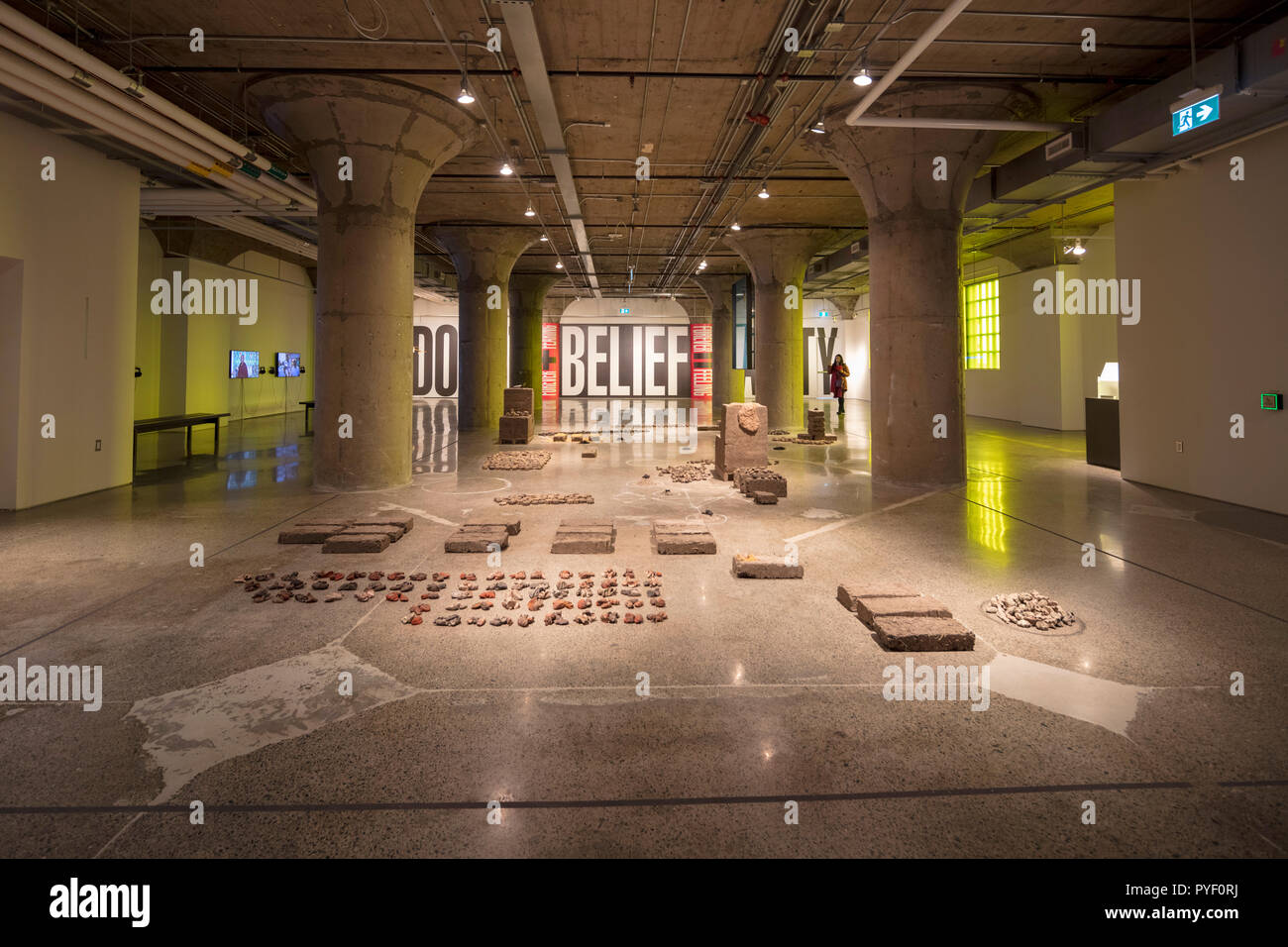 BELIEVE (group exhibition) at The Museum of Contemporary Art, Toronto, Canada - Stock Image