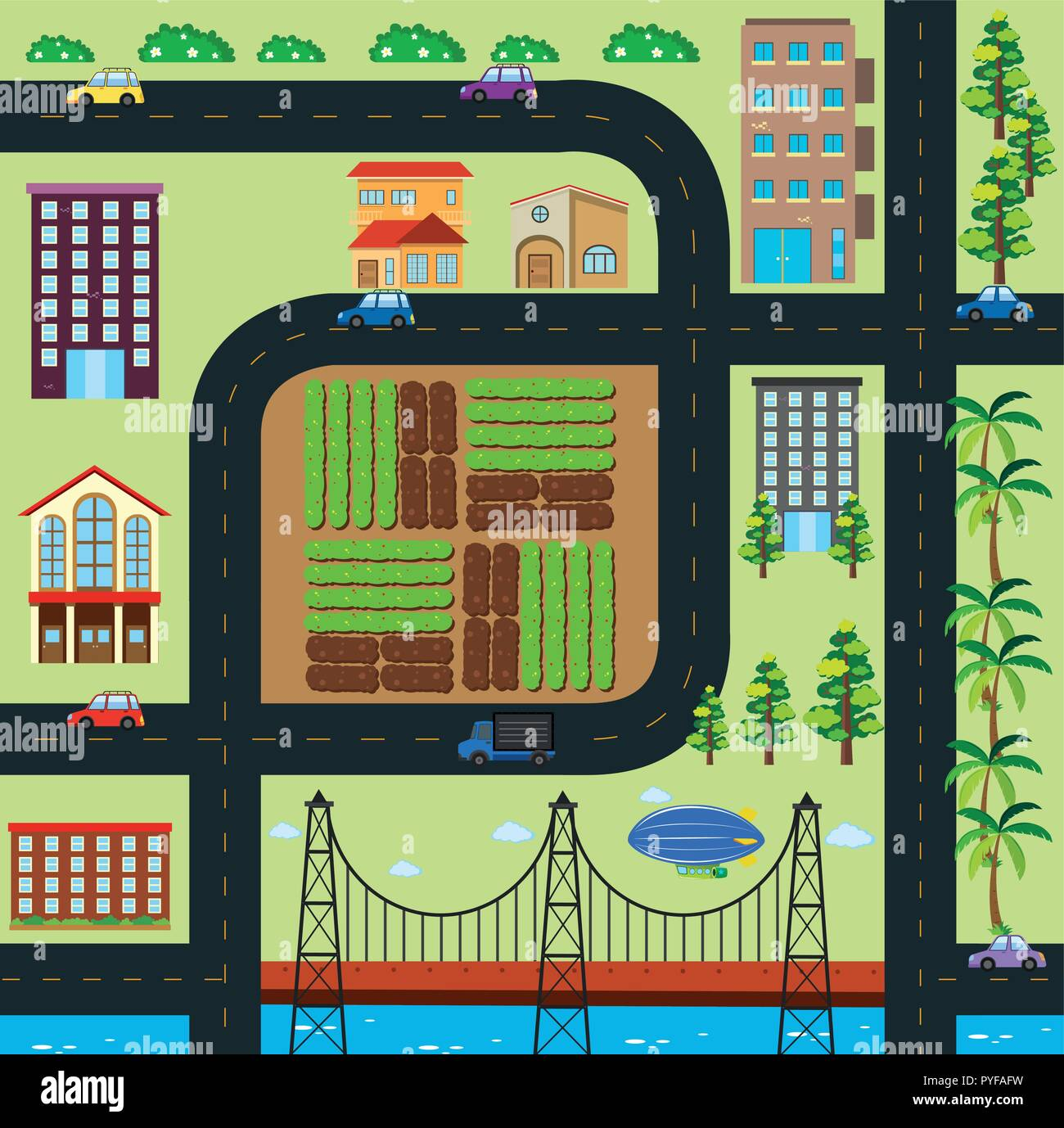 Map of town with roads and buildings illustration Stock Vector Art Illustration Map Town on map print, map of louisiana and mississippi, map of spanish speaking world, map clipart, map making, map art, map of the south sewanee university, map infographic, map background, map design, map great britain, map of california and mexico, map key, map paper, map cartoon, map of belfast and surrounding areas, map of victoria, map books, map app, map travel,
