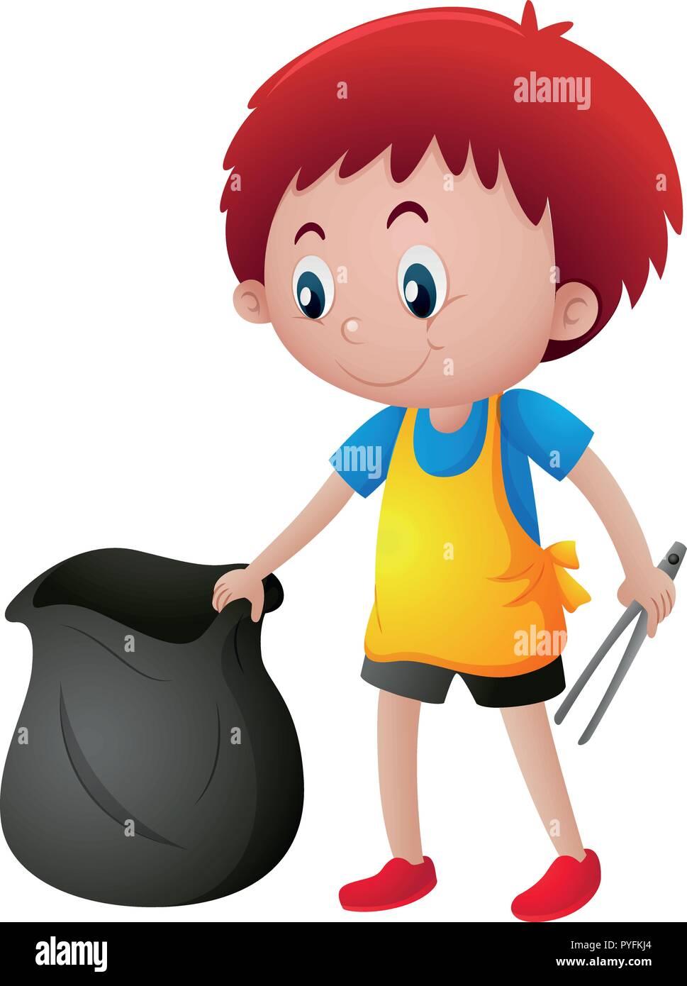Boy Trash Can Stock Illustrations – 343 Boy Trash Can Stock Illustrations,  Vectors & Clipart - Dreamstime