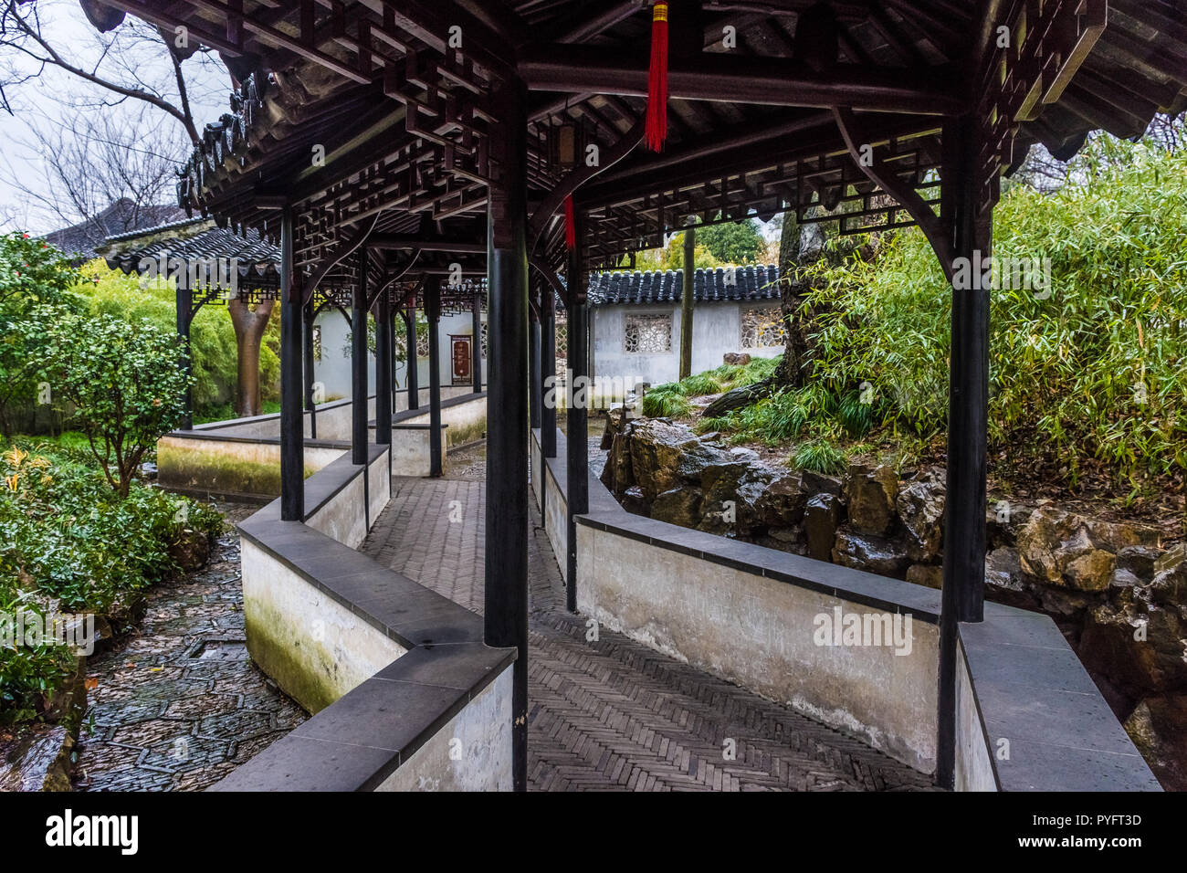 The Humble Administrator Garden Of Suzhou China Stock Photo