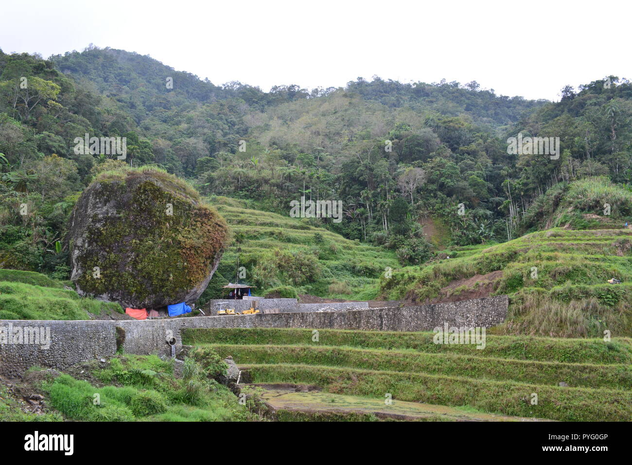 Banaue Rice Terraces Ifugao Philippines - Stock Image