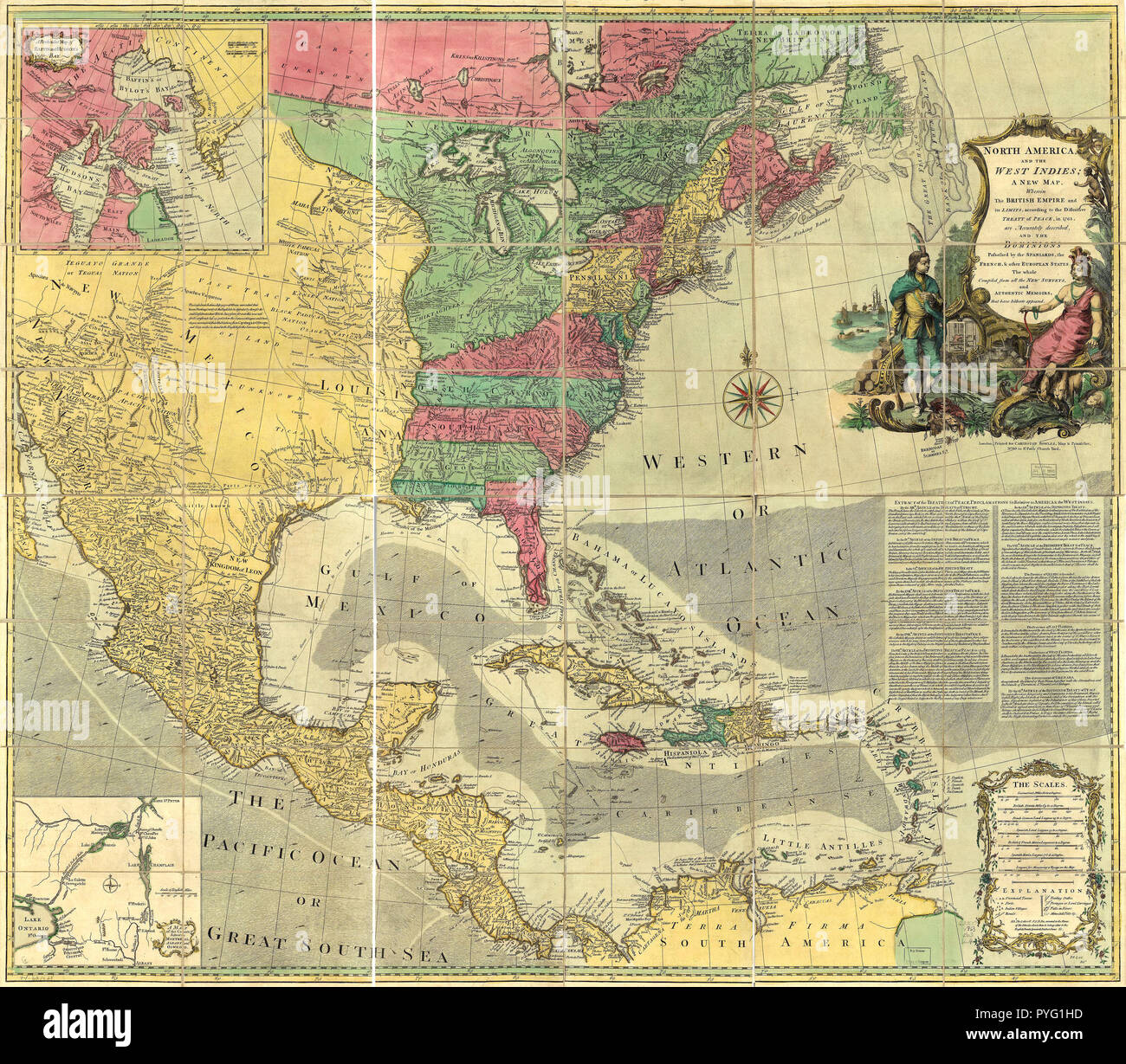 Vintage Maps Antique Maps North America And The West Indies A