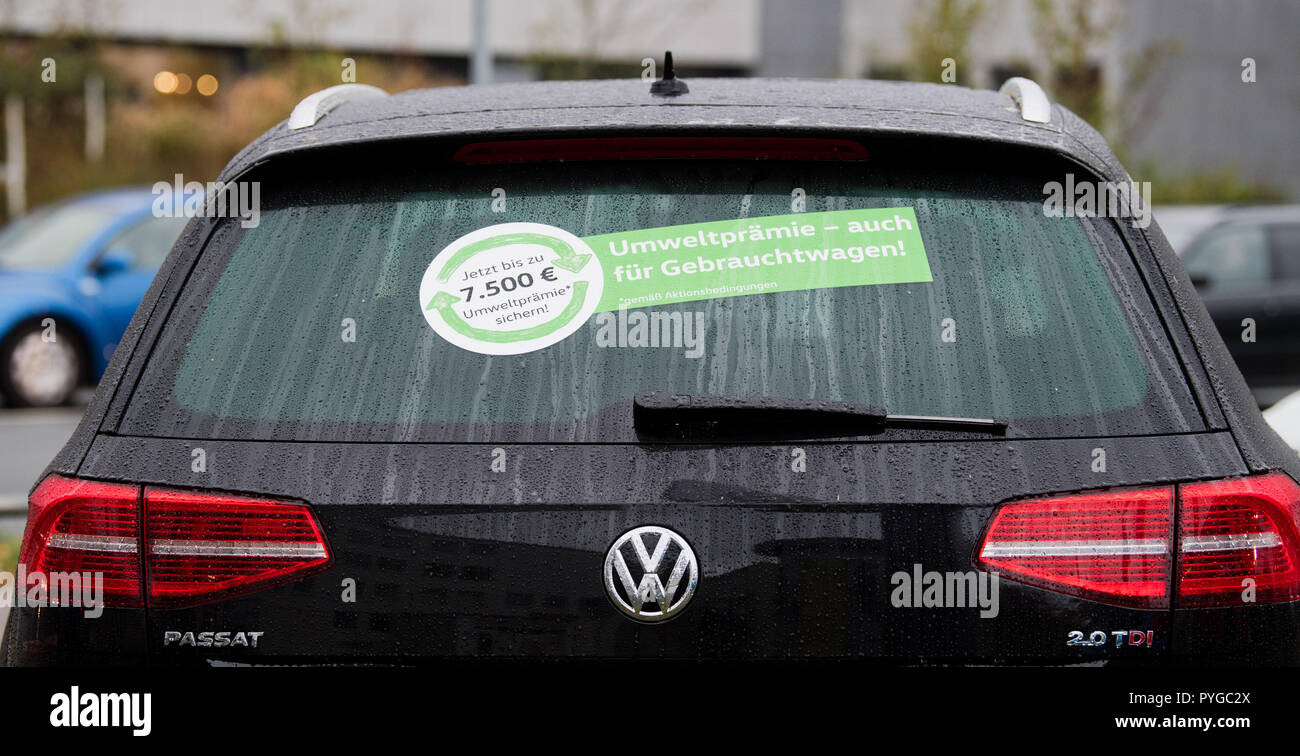 How To Return A Used Car To The Dealer >> Hanover Germany 26th Oct 2018 A Used Volkswagen Passat