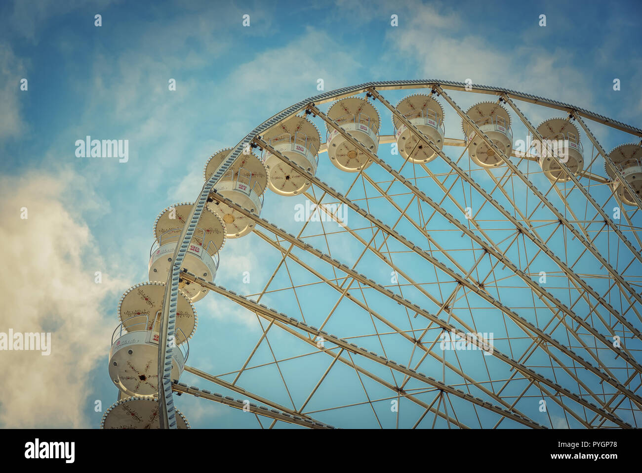 Riesenrad in Hannover - Stock Image