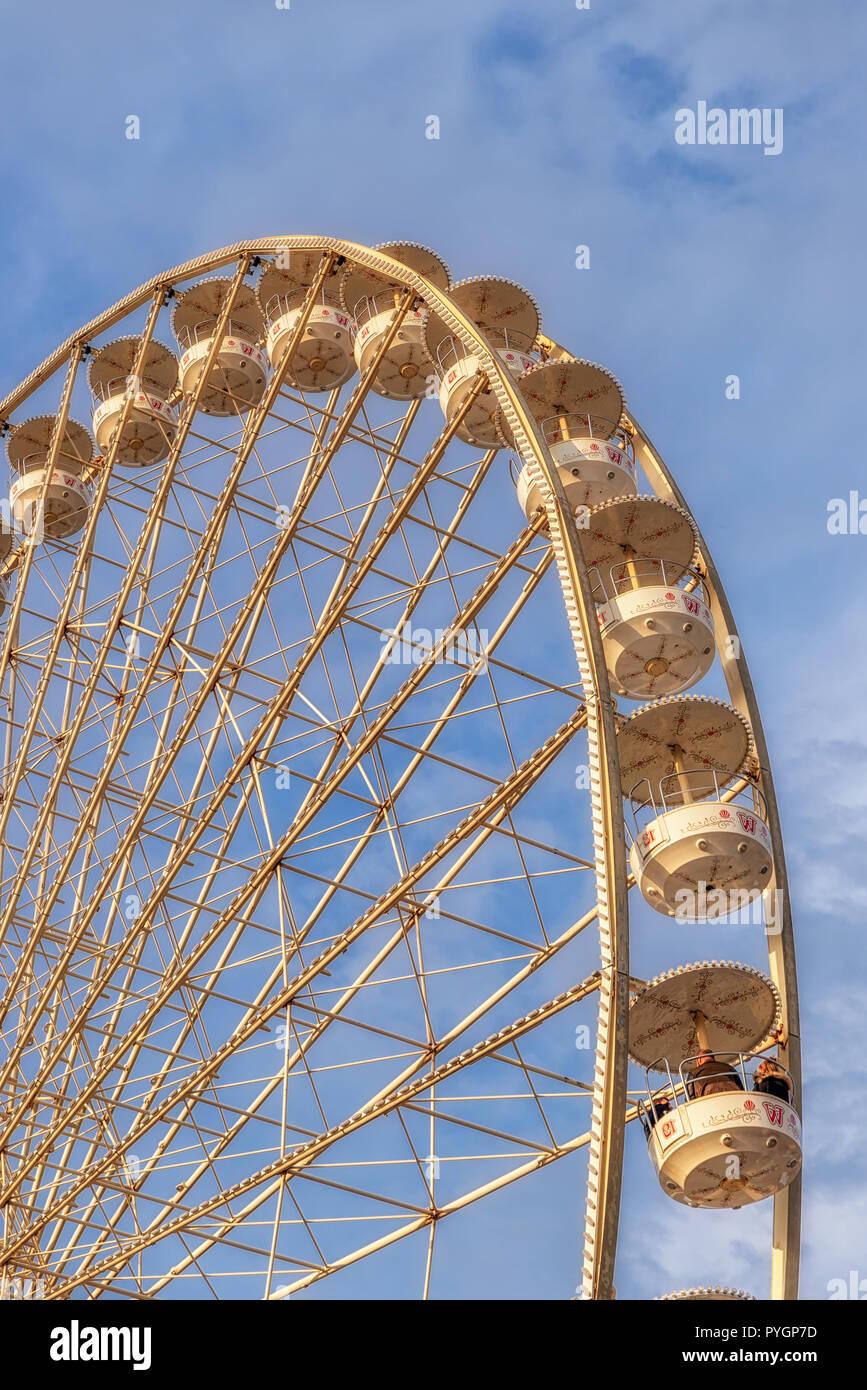 Riesenrad auf dem Schützenfast, Hannover - Stock Image