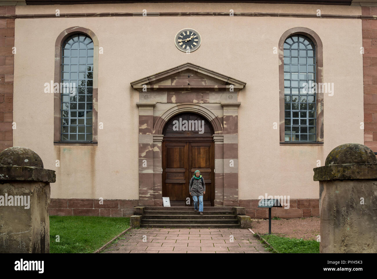 France - The Jewish Alsatian Museum in Bouxwiller - Stock Image
