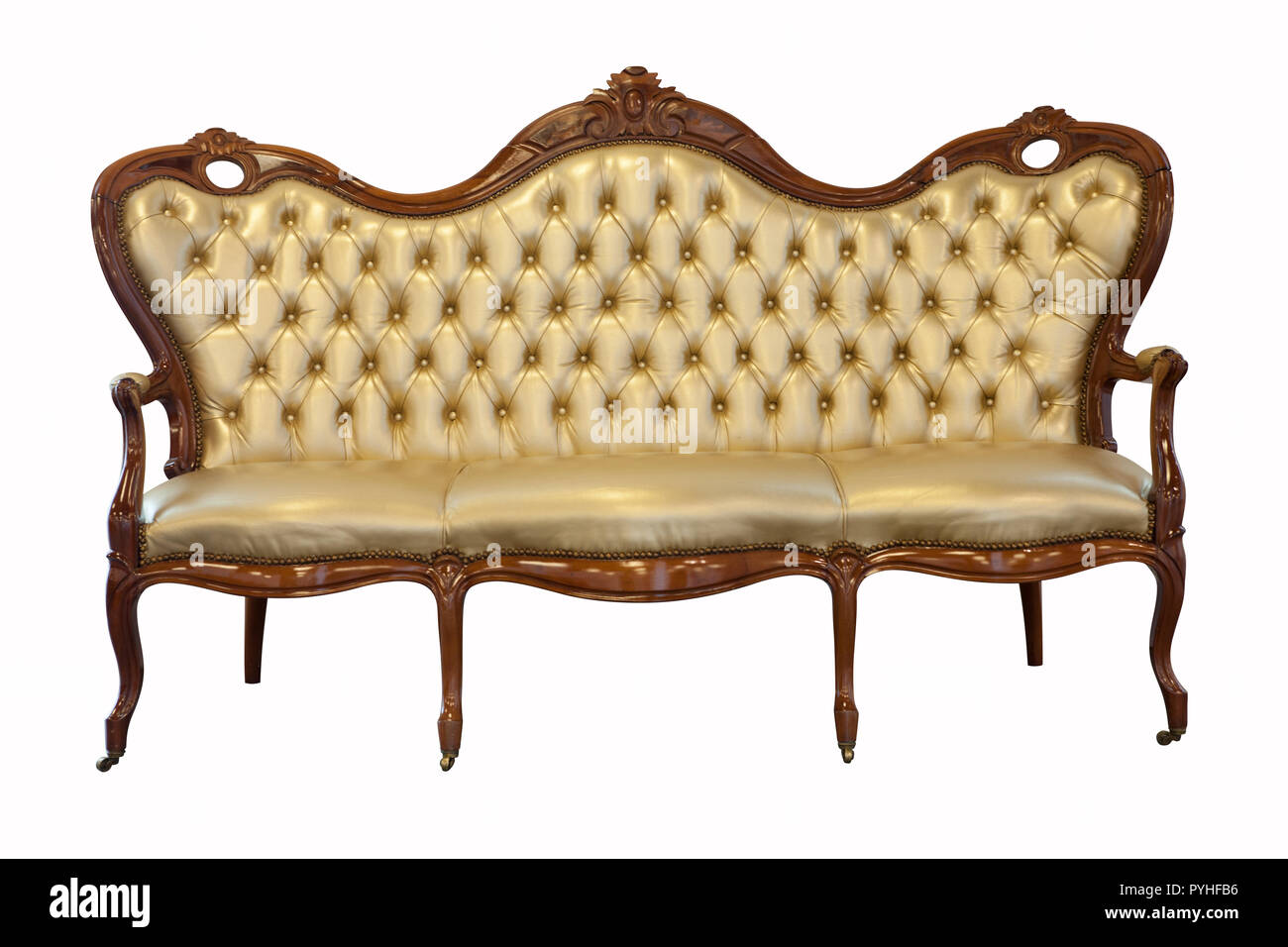 Vintage Couch High Resolution Stock Photography And Images Alamy