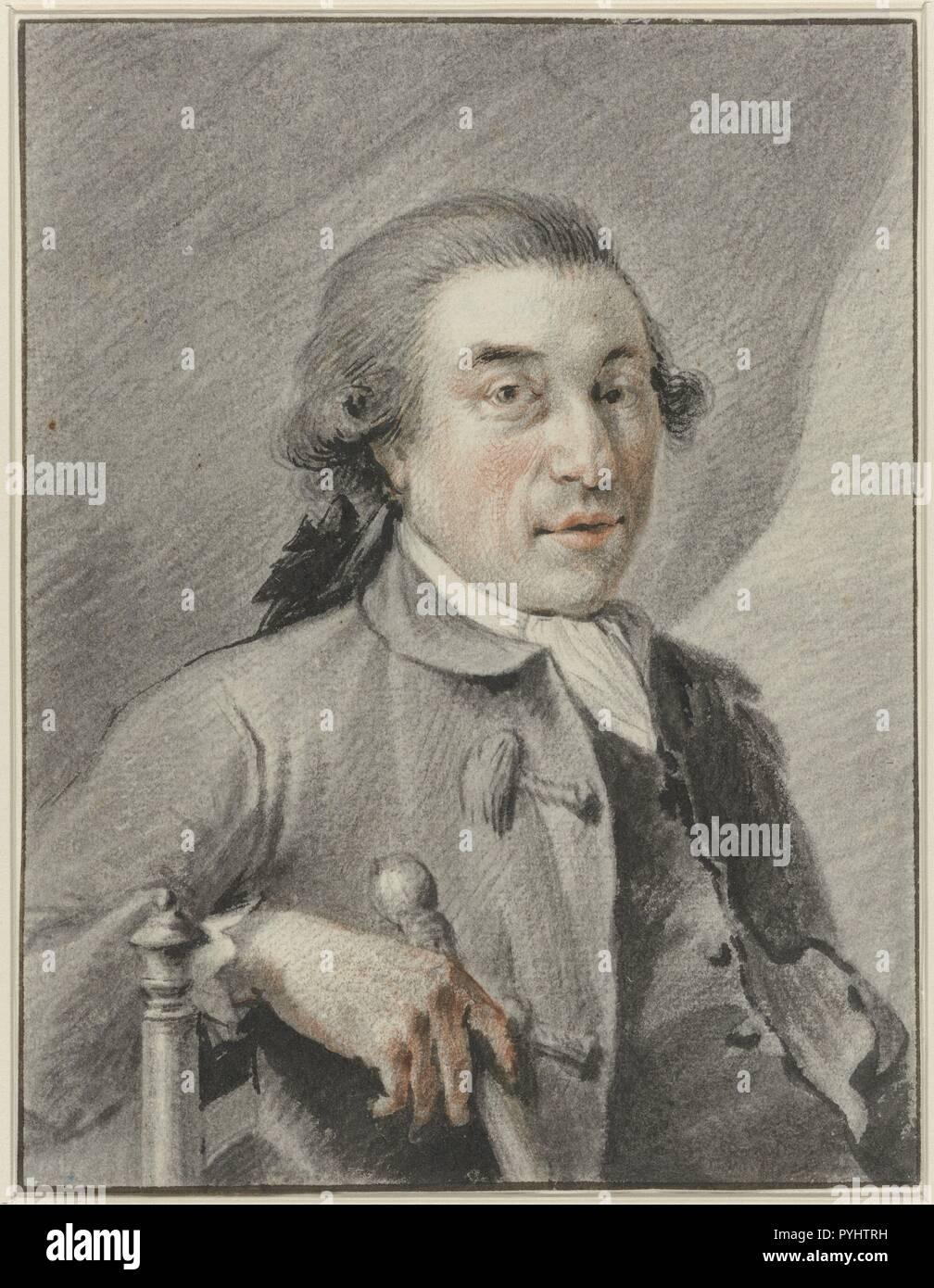Portret van de schilder Gerrit Toorenburgh, Wybrand Hendriks, 1754 - 1831.jpg - PYHTRH Stock Photo