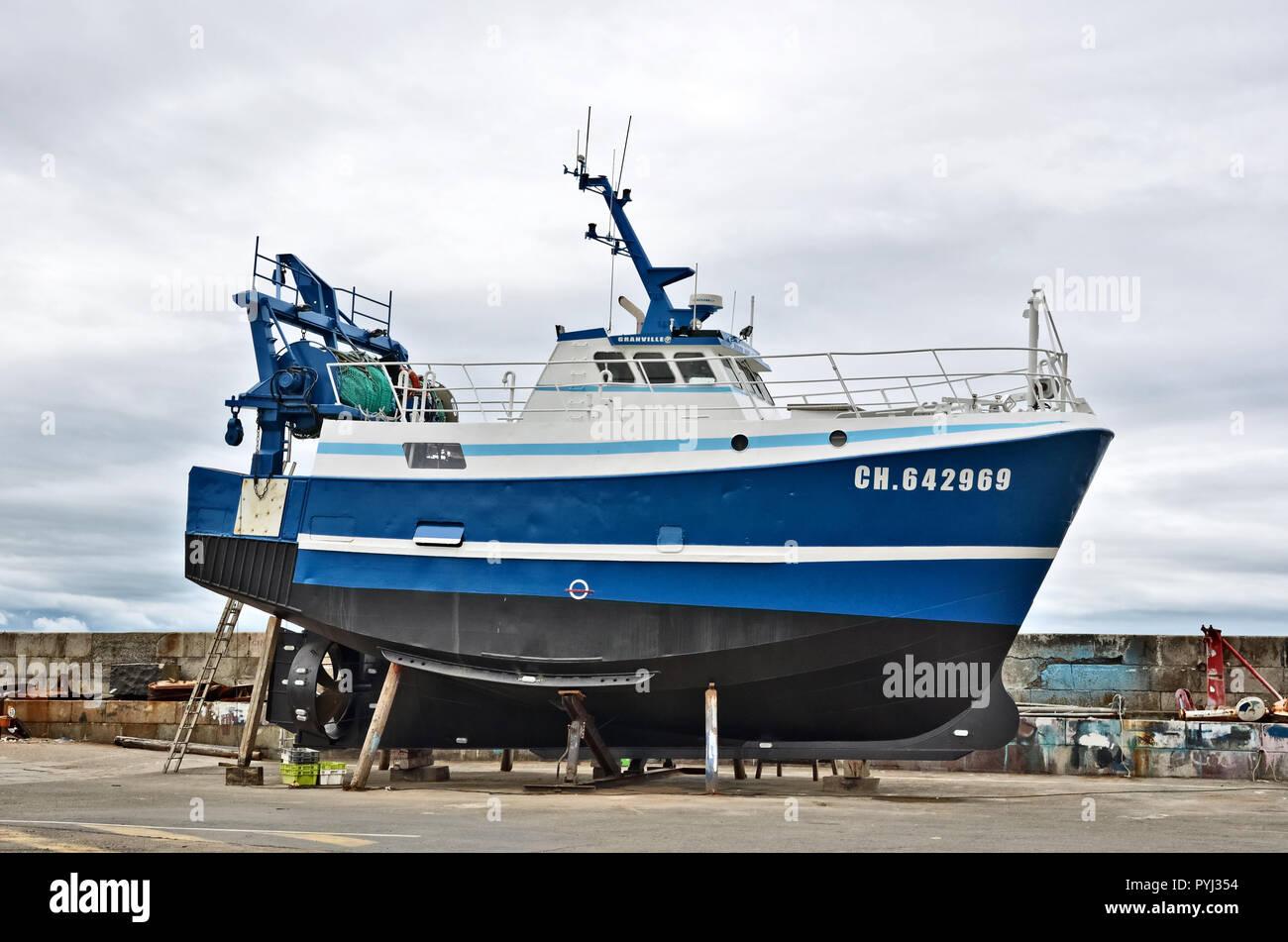 Trawler 'Galapagos' - Stock Image