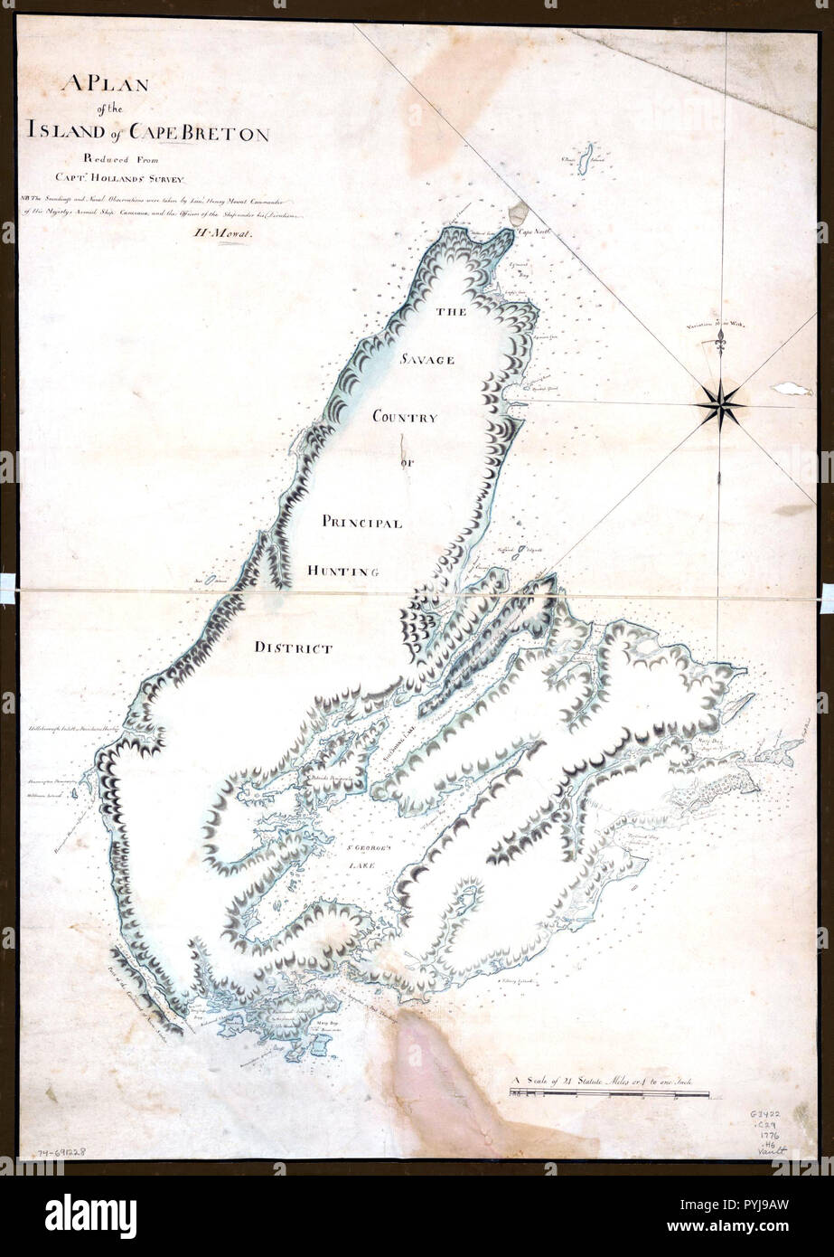 Vintage Maps / Antique Maps - A plan of the island of Cape ... on st. john's map, ontario map, north shore trail map, cape blanco map, bras d'or lake map, cape north nova scotia, cape brenton, nova scotia map, cape cod central railroad map, newfoundland map, canada map, rupert's land map, fortress louisbourg map, physical characteristics of a map, sydney map, muskoka map, cape farewell map, peggy's cove map, gournia map, london map,