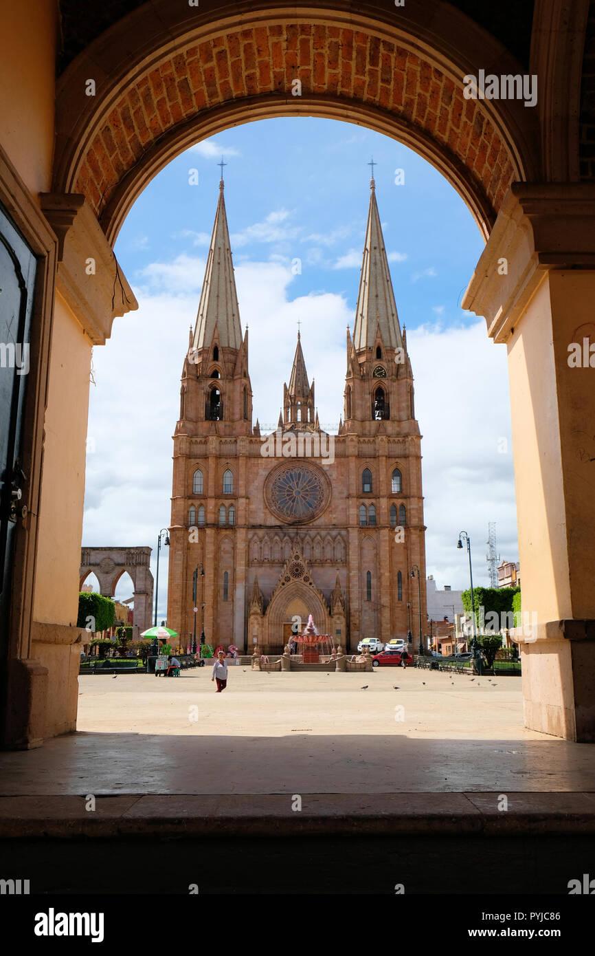 The San José Obrero parish, built in the neogothic style