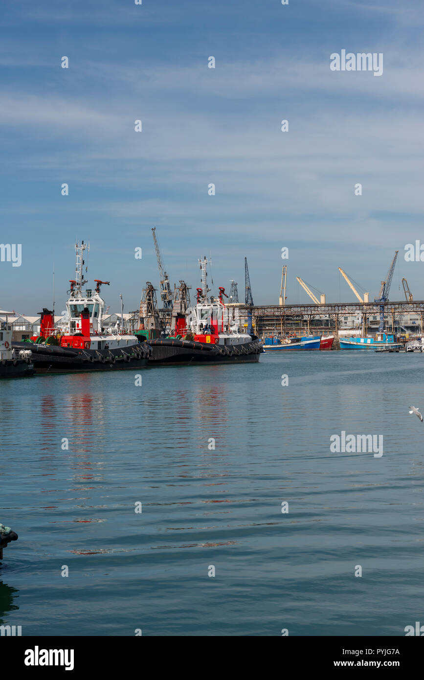 Cape Town Water front - Stock Image