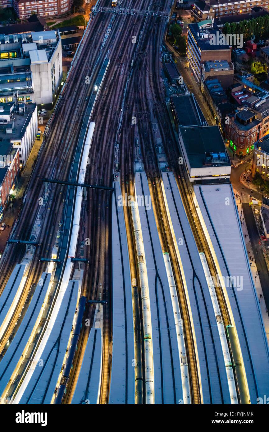 Network Rail London - Stock Image