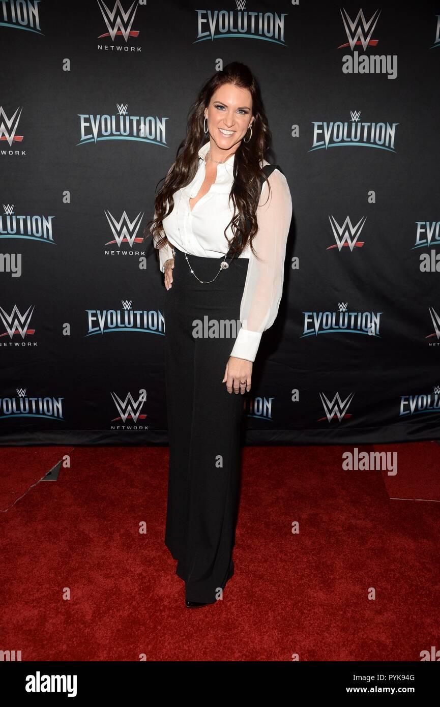 New York, NY, USA  28th Oct, 2018  Stephanie McMahon at