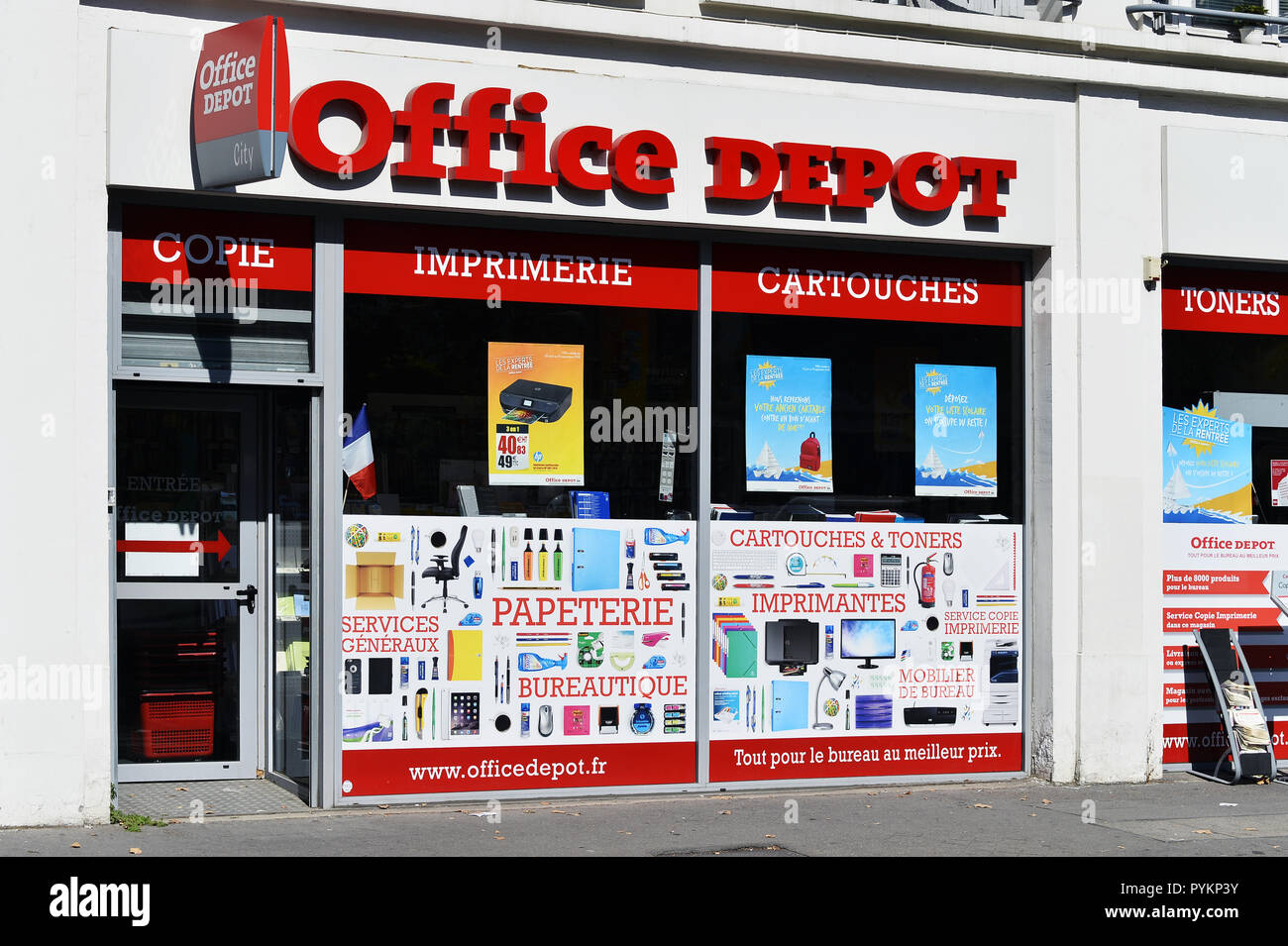 Office Depot Store Stock Photos Office Depot Store Stock Images