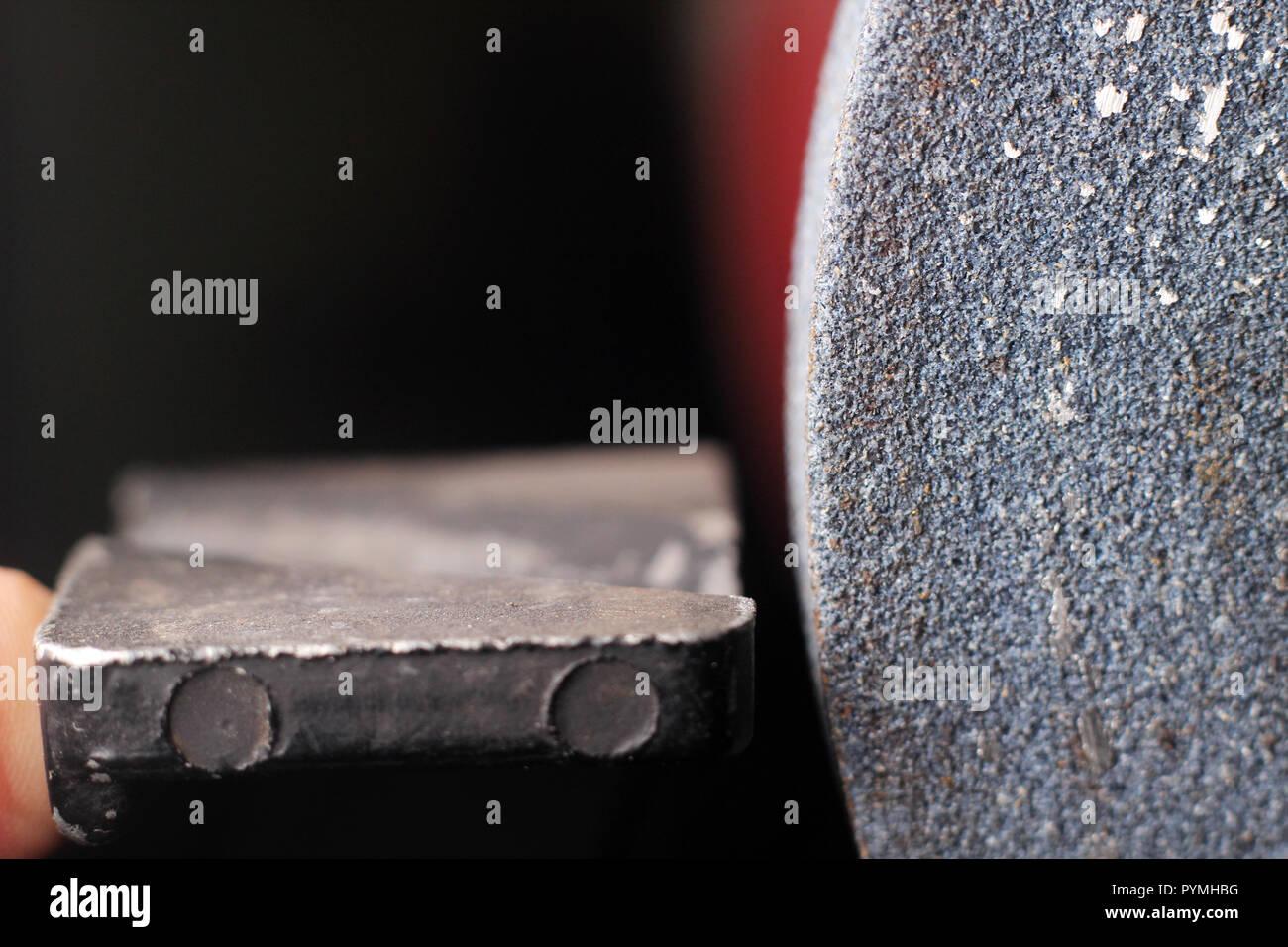 Emery - Stock Image