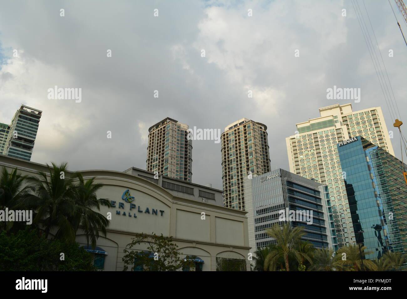 Powerplant Mall, Makati City, Philippines - Stock Image