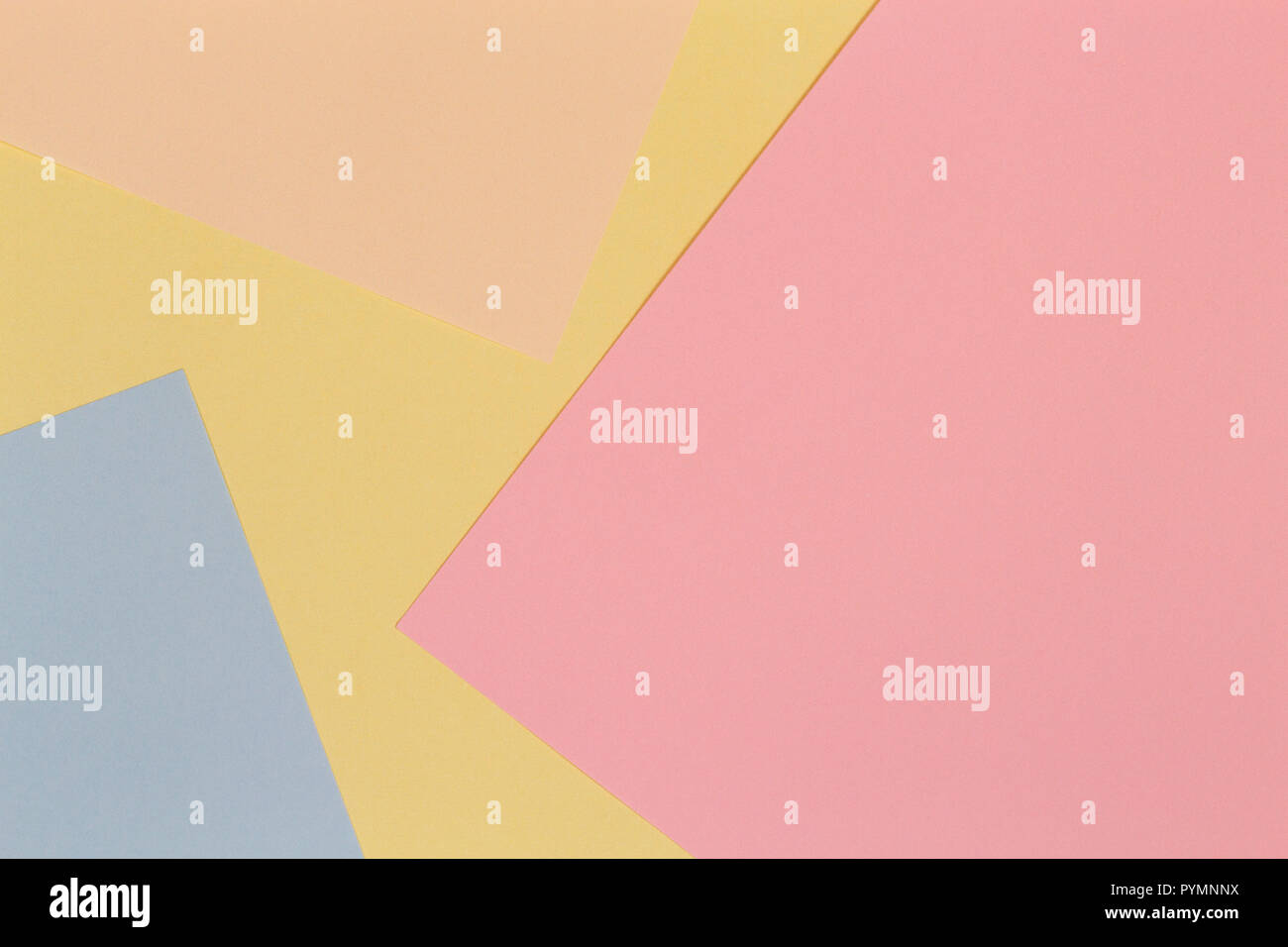 Abstract Colorful Paper Background Creative Geometry Design