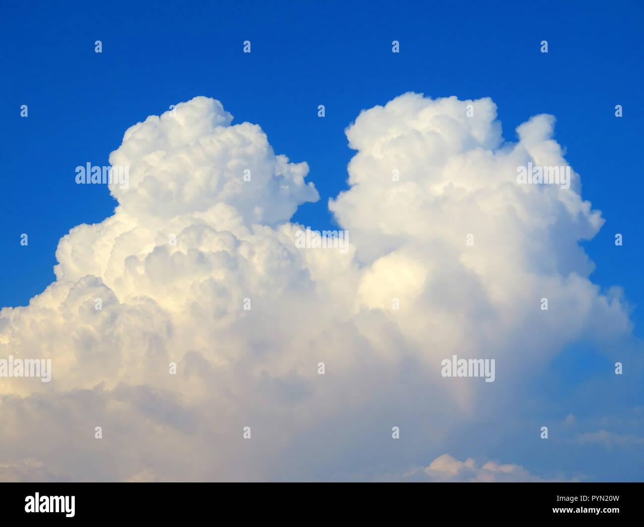 Cumulonimbus clouds over Guadalhorce Valley Andalusia, Spain