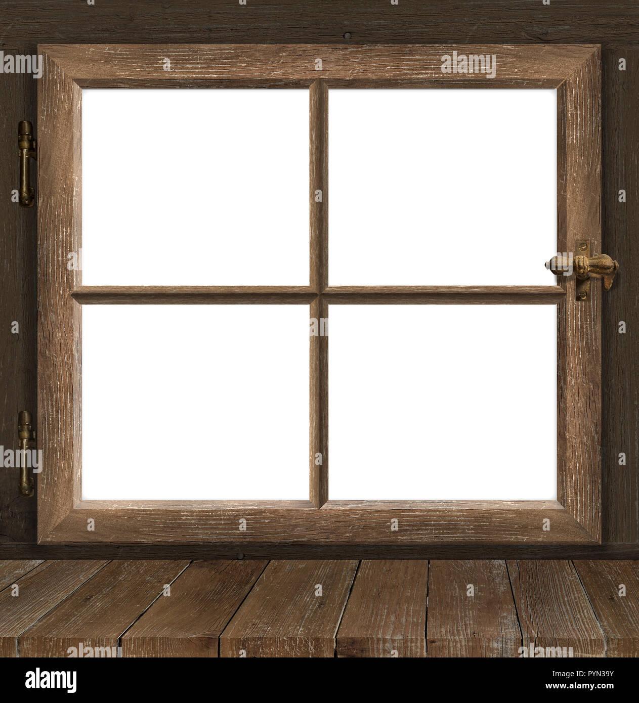 Old Window Frame White Stock Photos & Old Window Frame White Stock ...
