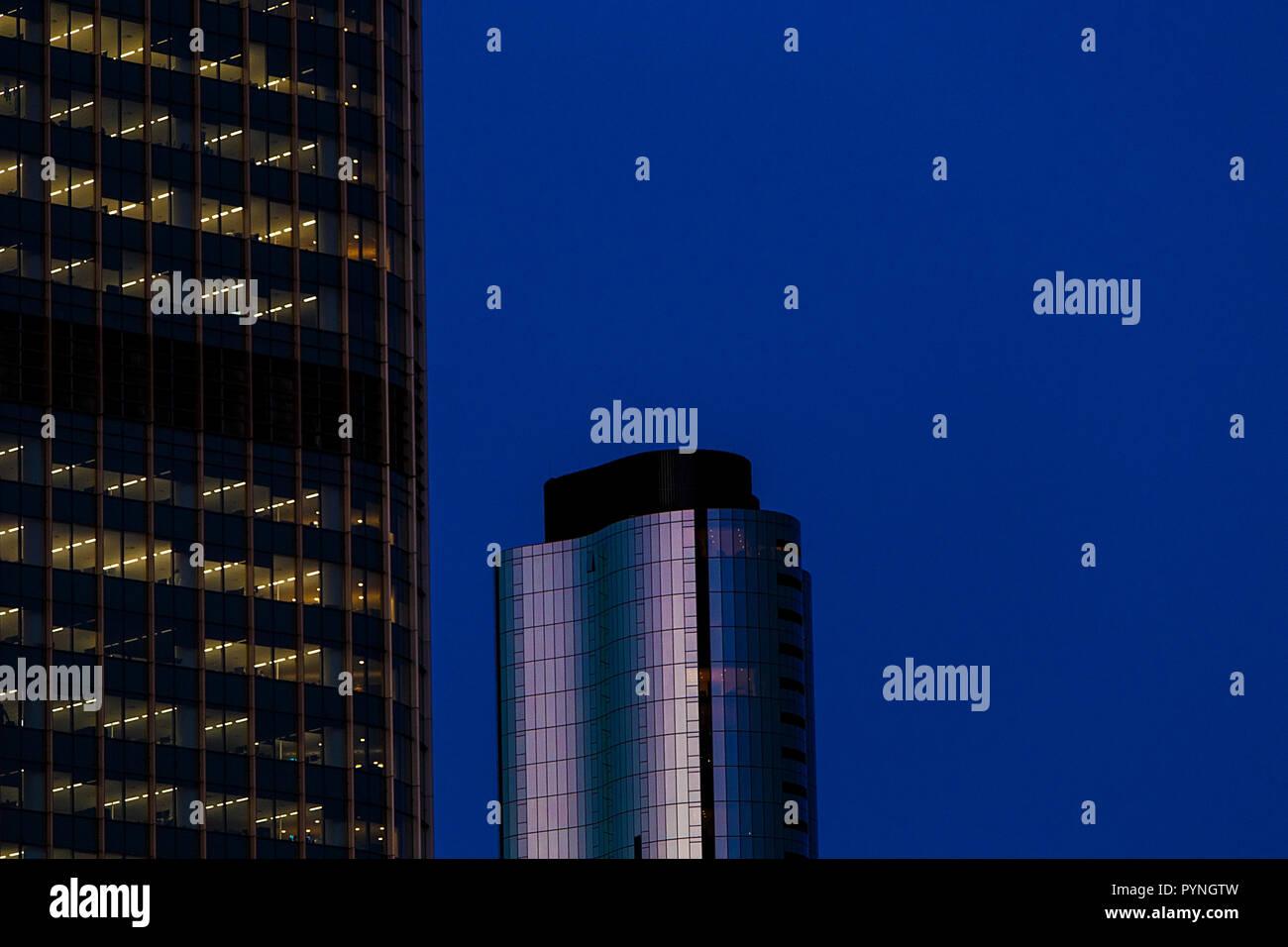 Brisbane skyline - Stock Image