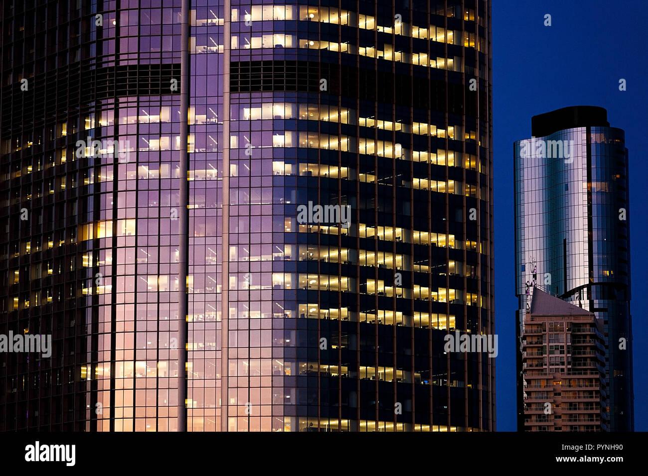 Brisbane skyline-Australia - Stock Image
