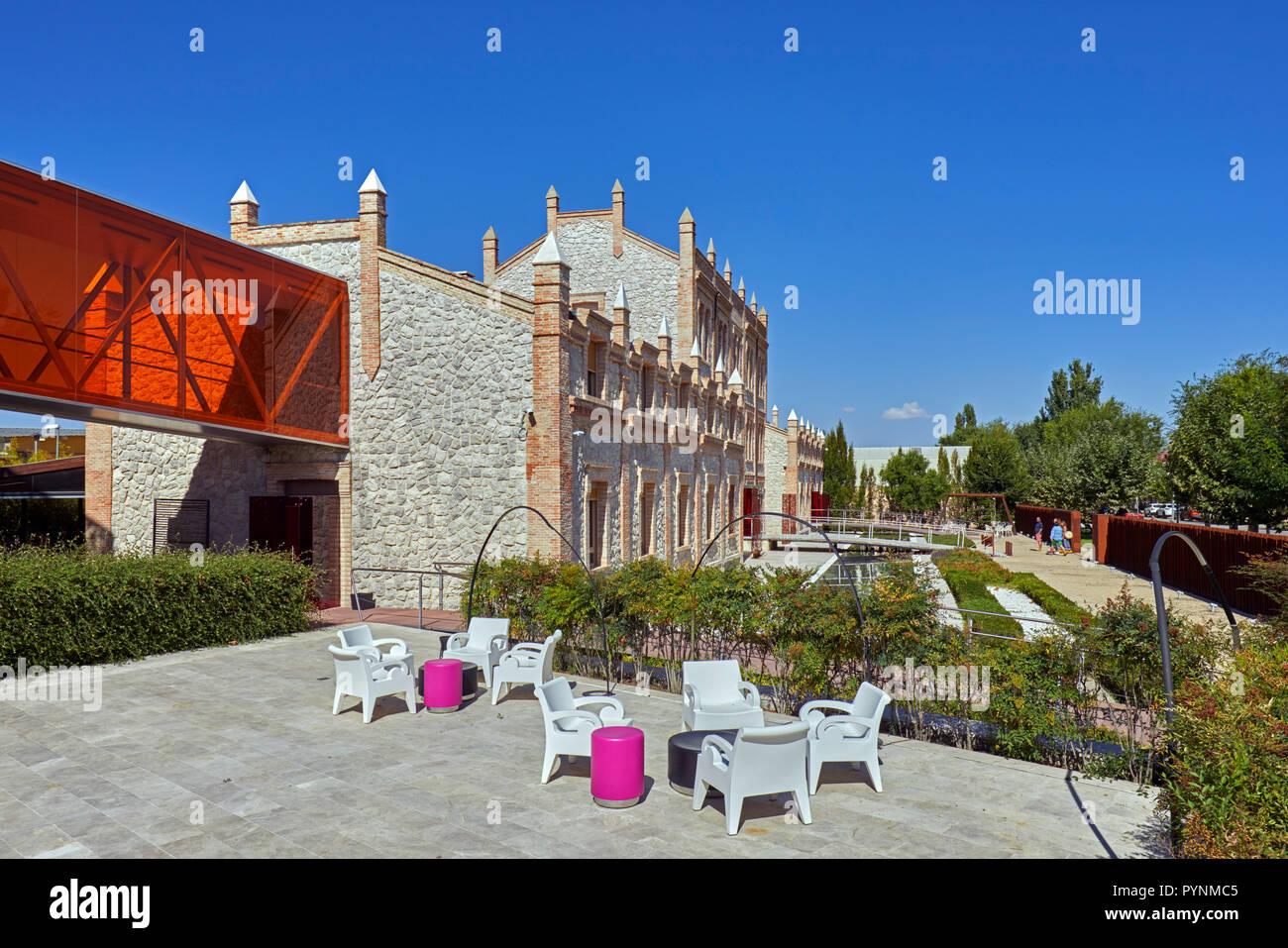 Hotel AF Pesquera in Peñafiel. Castilla y León, Spain.  [Ribera del Duero] Stock Photo