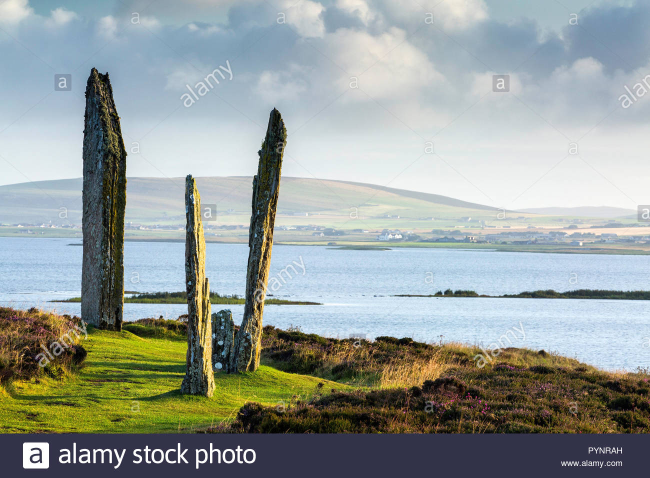 The Ring of Brodgar, Orkney Islands Scotland - Stock Image