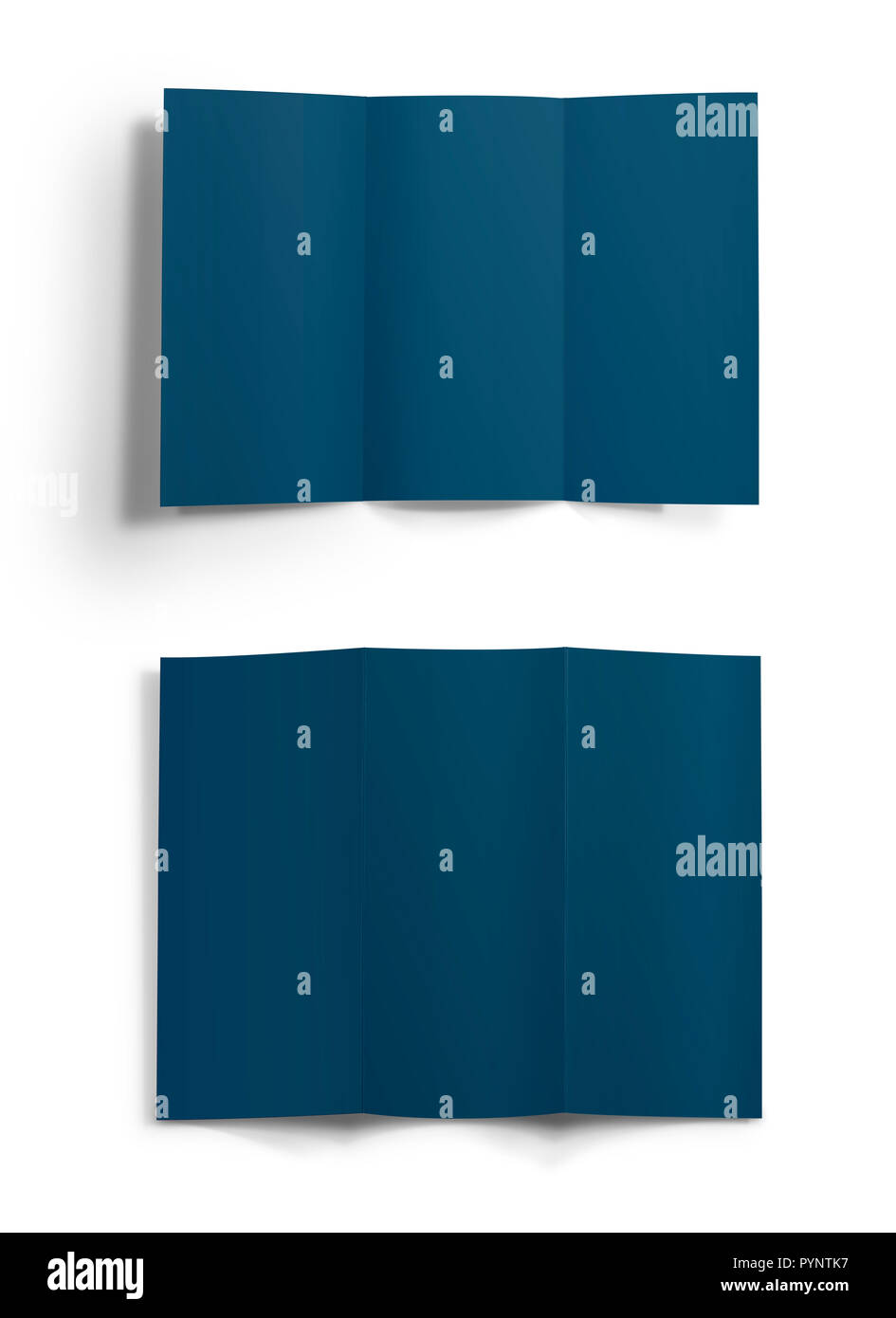 blank template of folded brochure stock photo 223600475 alamy