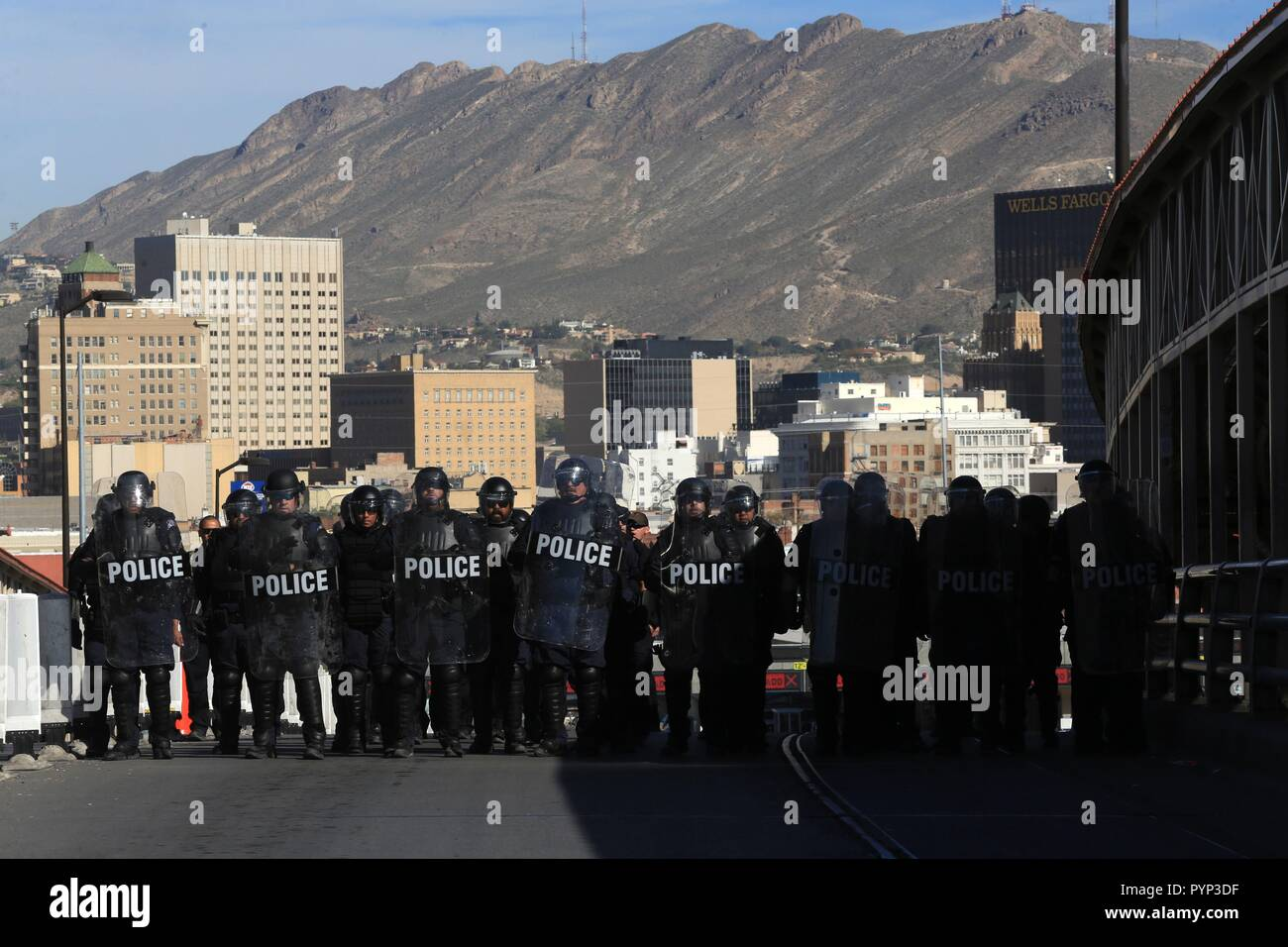 El Paso, Texas, USA  29th Oct, 2018  Customs and Border