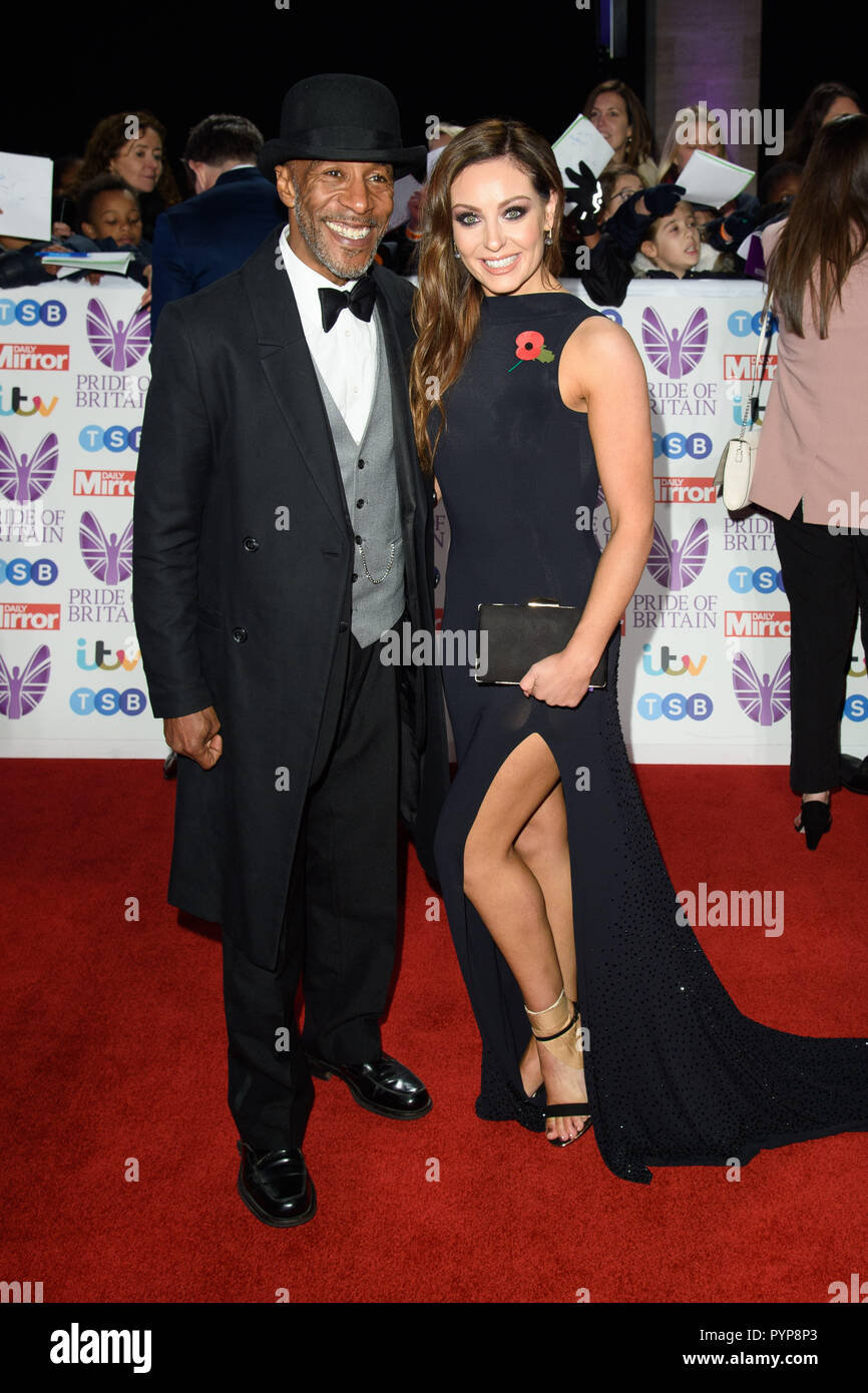 LONDON, UK. October 29, 2018: Danny John Jules at the Pride of Britain Awards 2018 at the Grosvenor House Hotel, London. Picture: Steve Vas/Featureflash - Stock Image