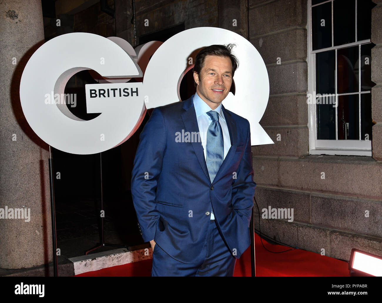 Arrivers at GQ 30th Anniversary celebration at Sushisamba, The Market, Convent Garden on 29 October 2018. - Stock Image