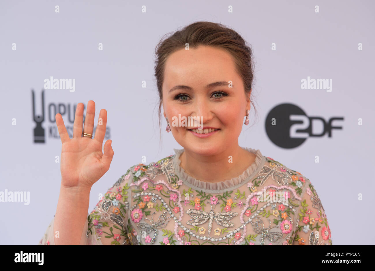 Julia LEZHNEVA (solo recording/singing of the year, opera) Award ceremony of the Opus Klassik 2018 by the Verein zur Förderung der Klassischen Musik eV in the Konzerthaus Berlin on 14.10.2018. | Usage worldwide - Stock Image