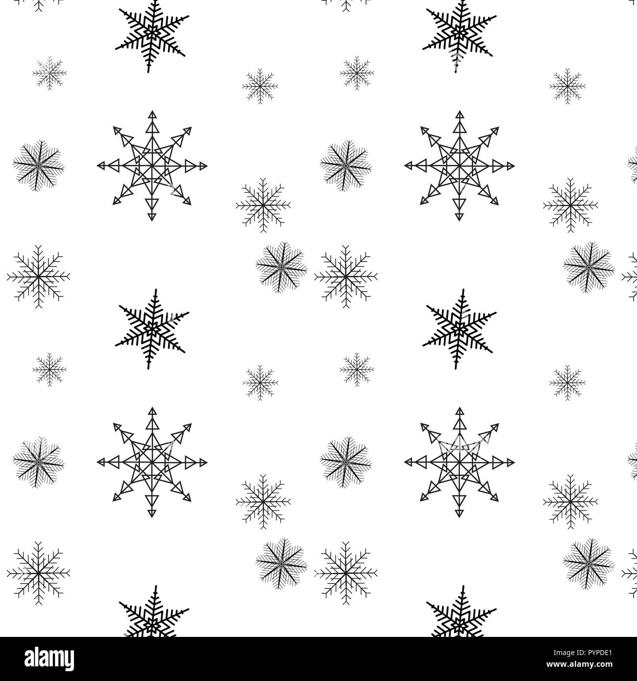 Christmas Wallpaper Black And White Stock Photos Images Alamy