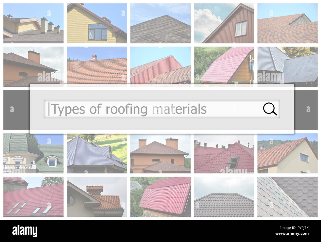 Roofing Building Design Materials High Resolution Stock Photography And Images Alamy